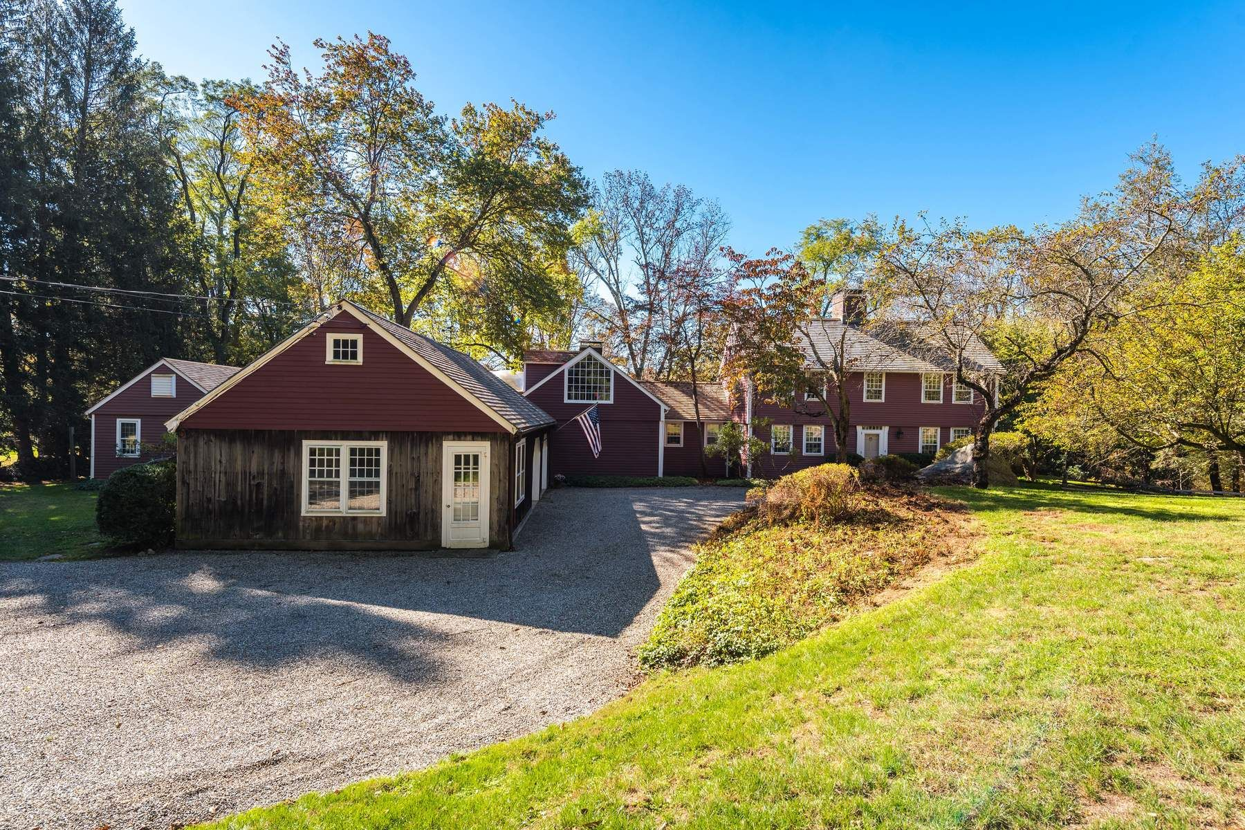 Single Family Home for Sale at History Lives Here 45 Barn Hill Road, Backcountry, Greenwich, Connecticut, 06831 United States