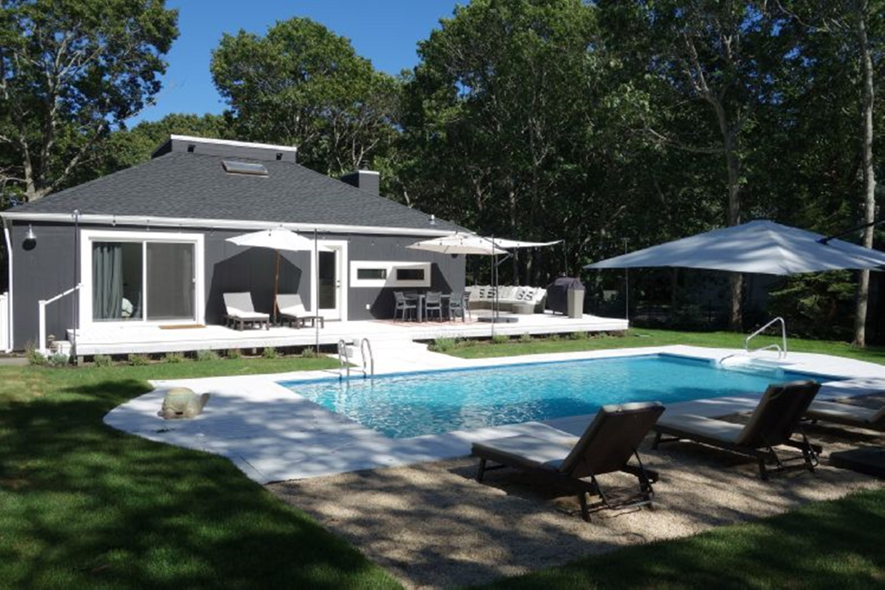 Single Family Home for Rent at Renovated Gem in Bridgehampton Bridgehampton, New York 11932 United States