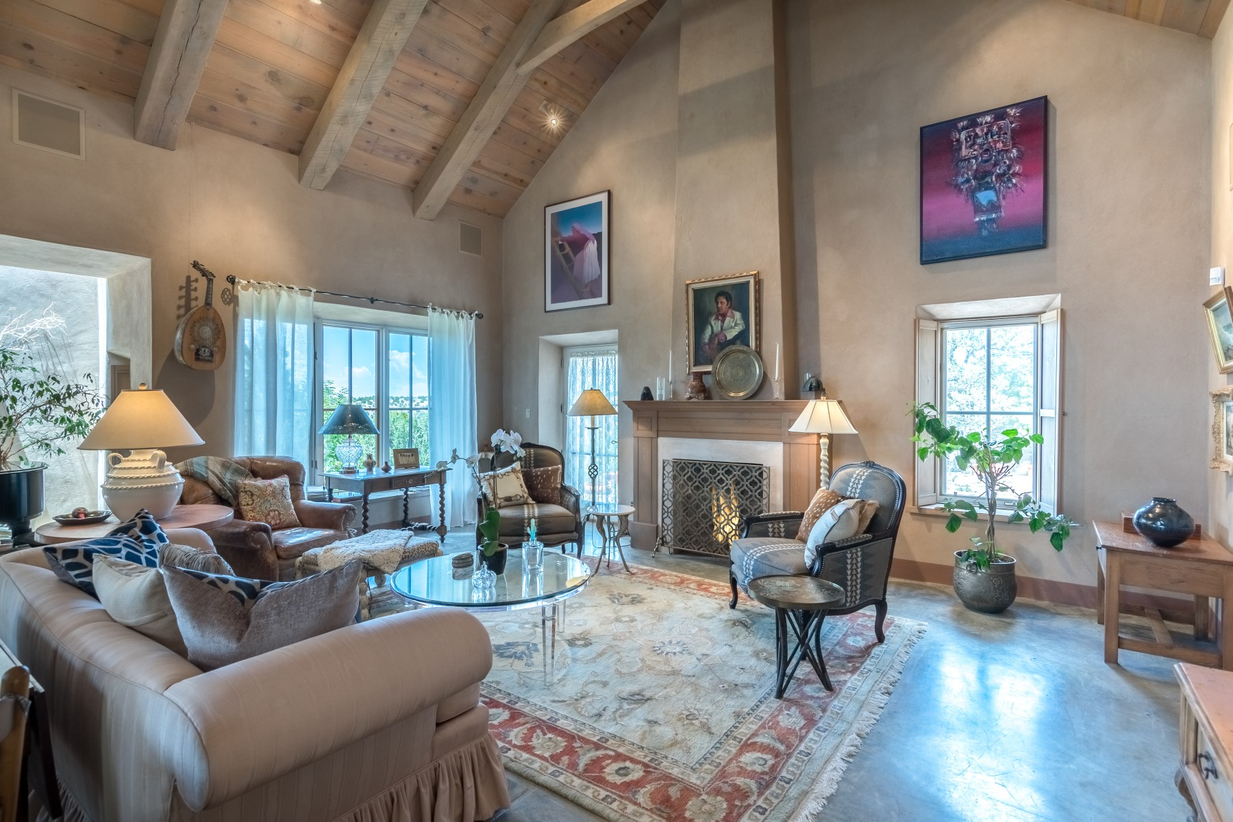 Single Family Home for Sale at 11 Running Horse Trail Santa Fe, New Mexico, 87508 United States