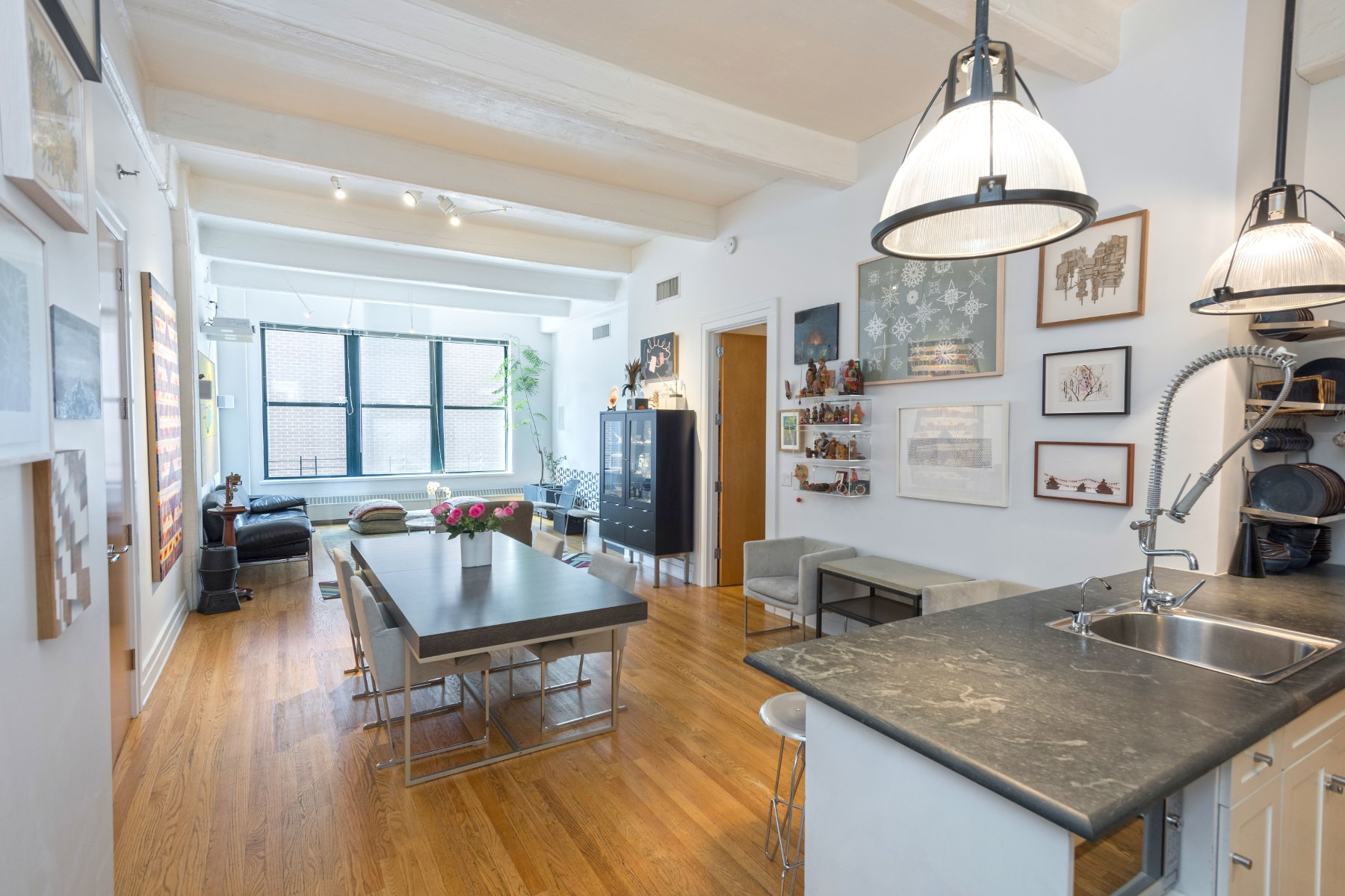 Condominium for Sale at Spacious, Sun-Drenched DUMBO Loft 30 Main Street Apt 9D Brooklyn, New York 11201 United States