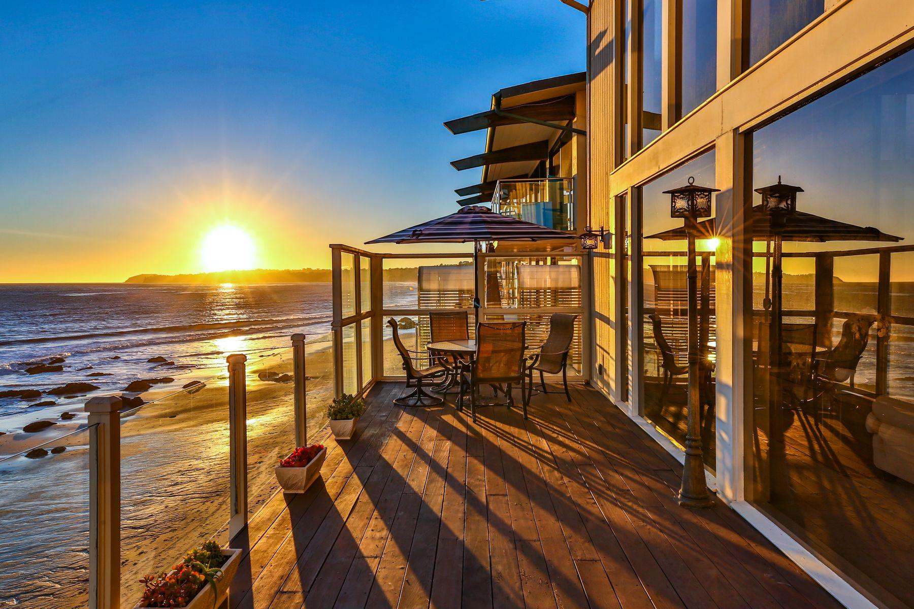 Single Family Homes for Sale at Brady Bunch Beach House 26962 Malibu Cove Colony Dr Malibu, California 90265 United States
