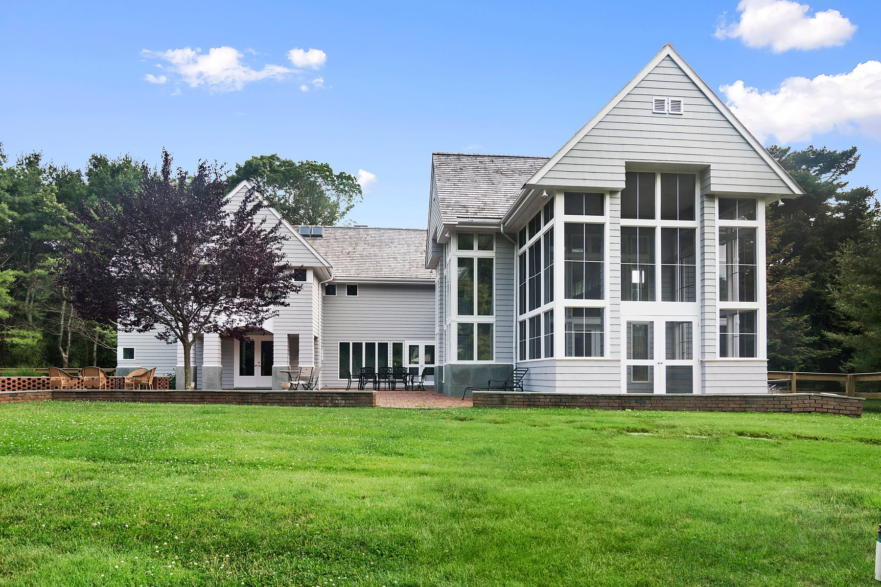 Single Family Homes for Sale at BELL ESTATE TRANSITIONAL 49 Broadview Road Amagansett, New York 11930 United States