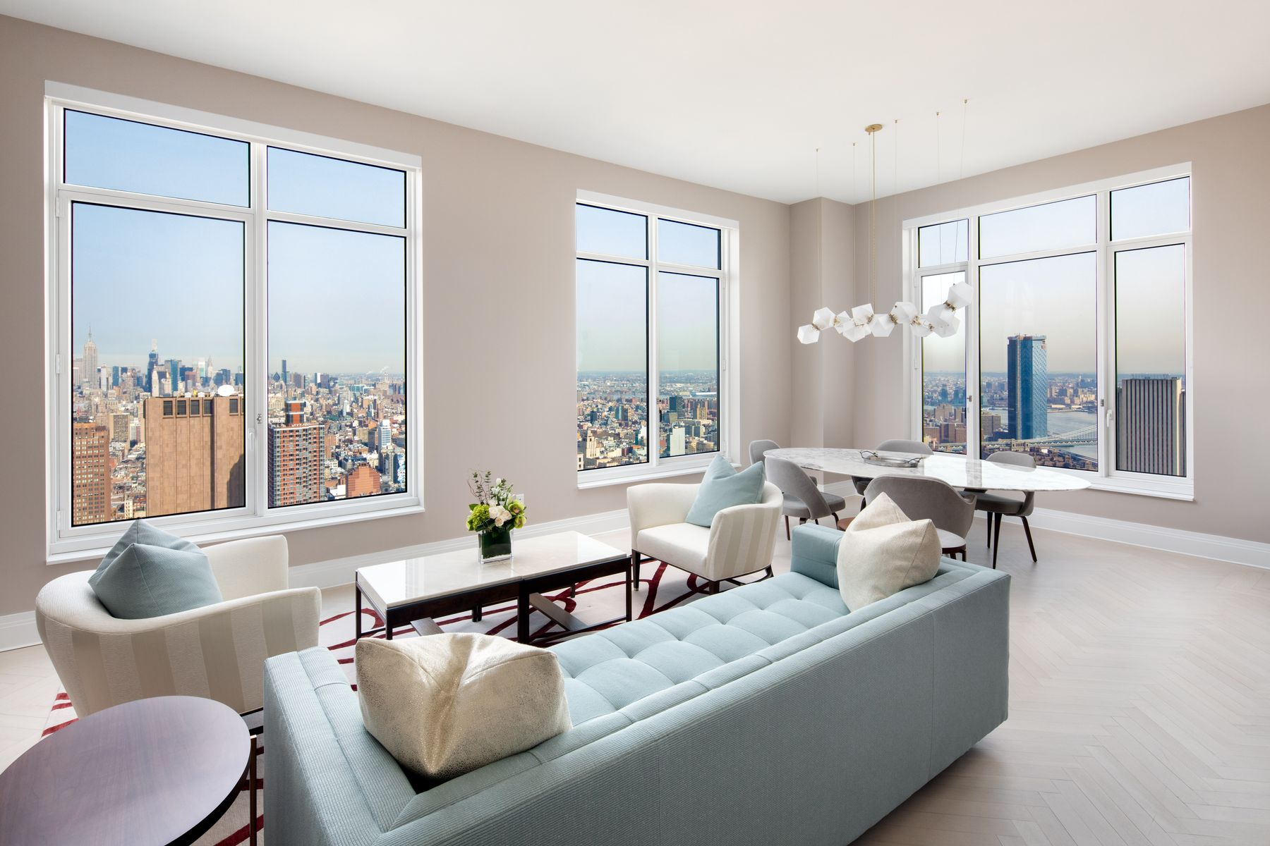 Condominiums for Sale at Four Seasons Private Residences 30 Park Place 62B New York, New York 10007 United States