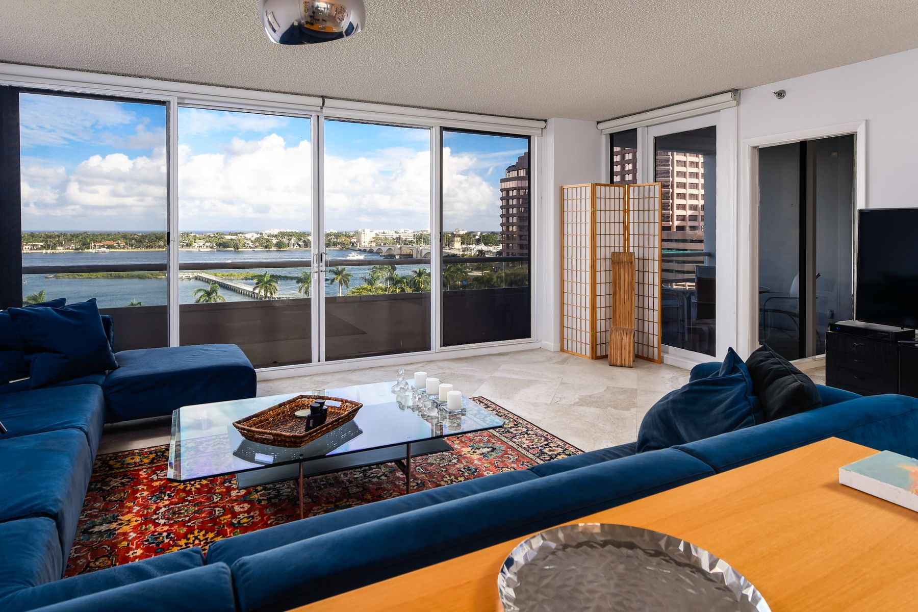 Condominium for Active at Trump Plaza 8F 529 S Flagler Dr Apt 8F West Palm Beach, Florida 33401 United States