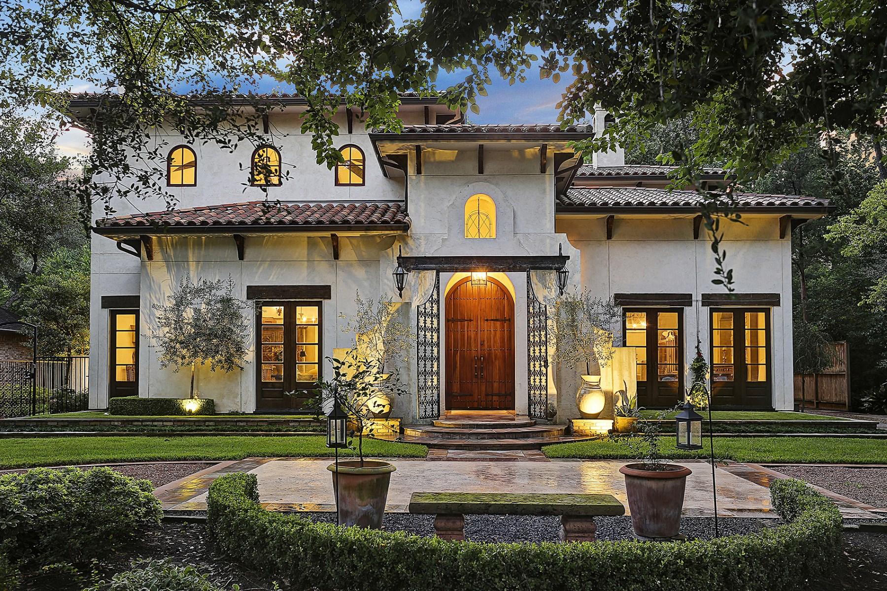 واحد منزل الأسرة للـ Sale في 425 Hedwig Road Houston, Texas, 77024 United States