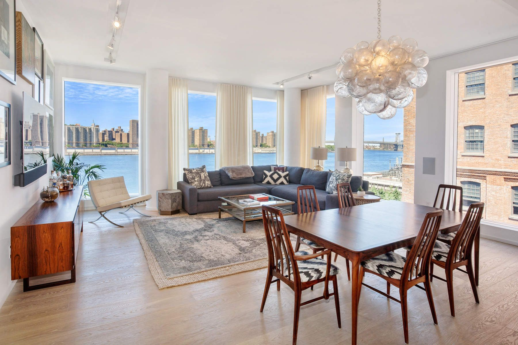 Condominium for Sale at Stunning 4-Bedroom at 1 John Street 1 John Street Apt 5D Brooklyn, New York 11201 United States