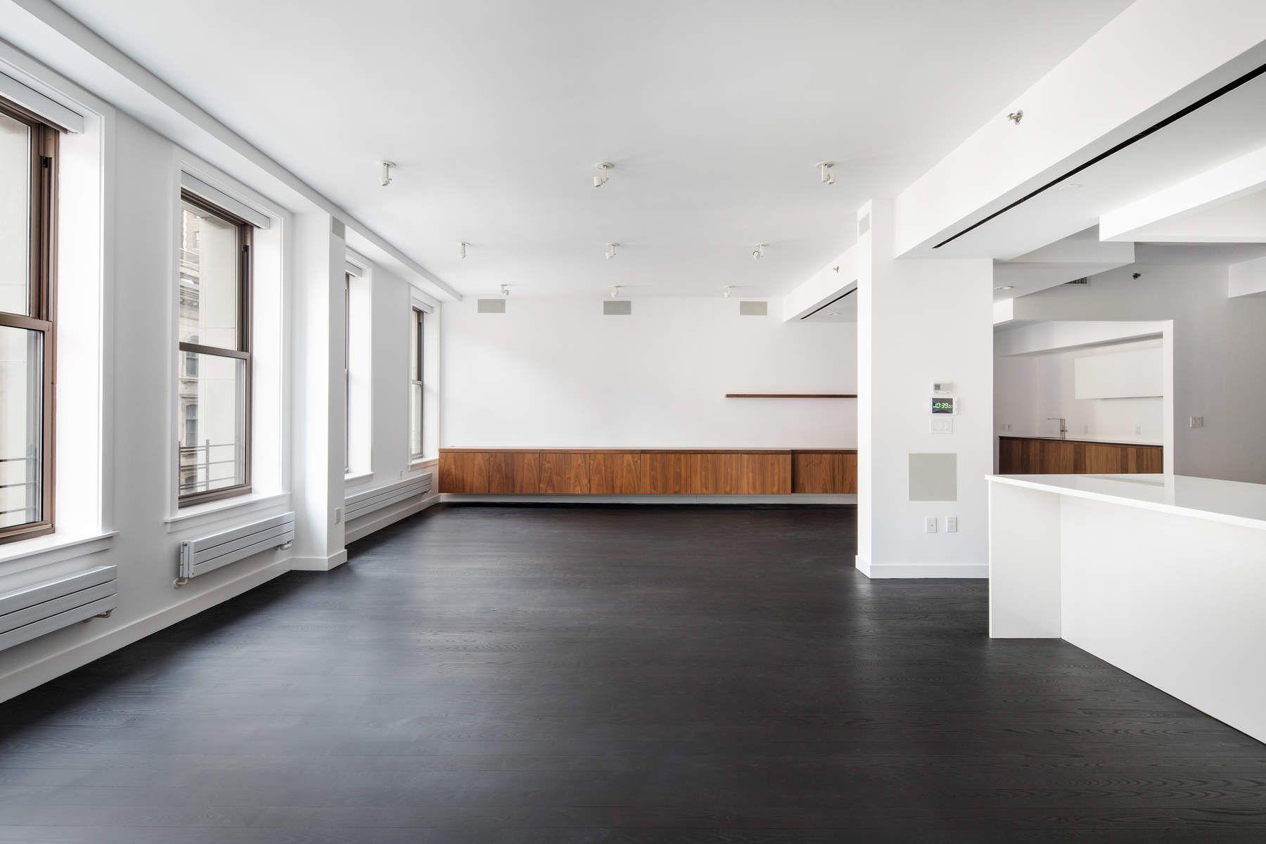 Кондоминиум для того Продажа на 3 Bedroom Plus Home Office Tribeca Loft 77 Reade Street Apt 5AC, Tribeca, New York, Нью-Йорк, 10007 Соединенные Штаты