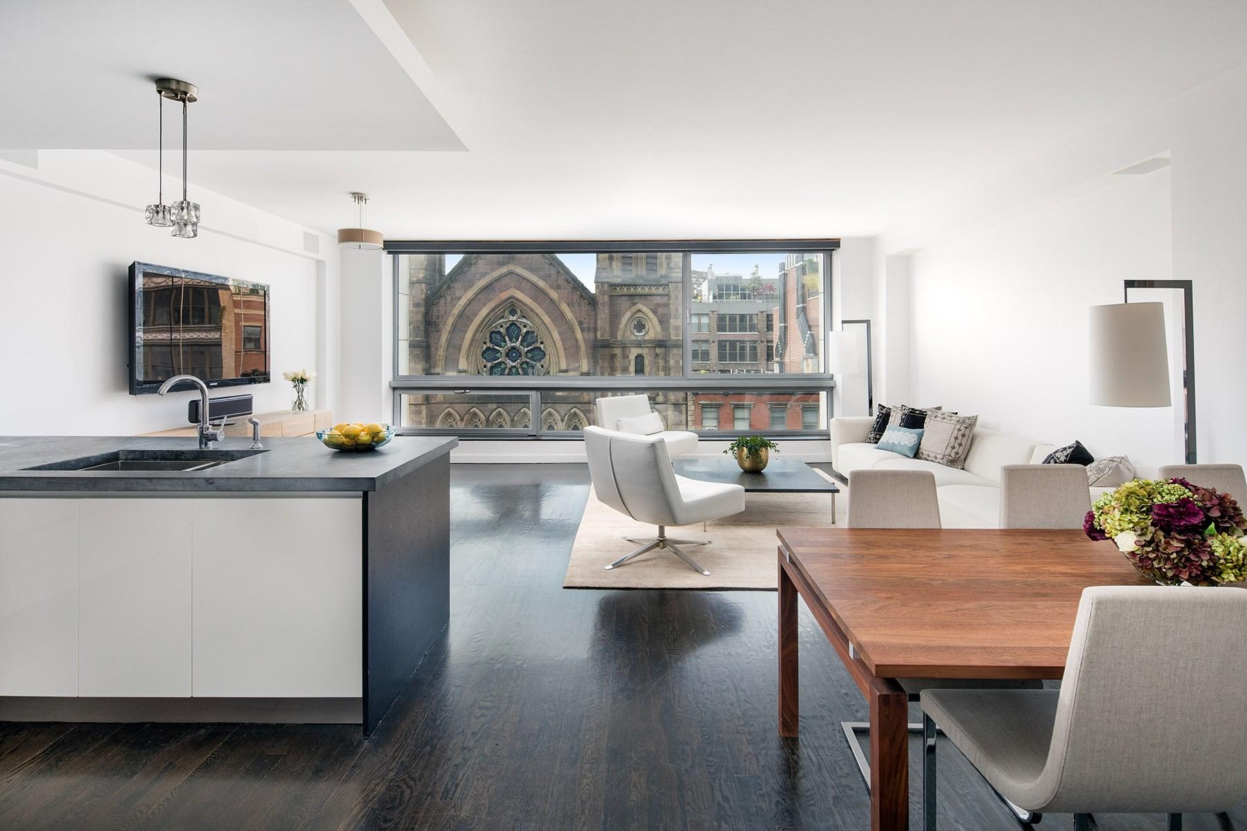Condominium for Sale at Full-Floor 2-Bed/2-Bath Loft 333 West 14th Street 6 Chelsea, New York, New York, 10014 United States