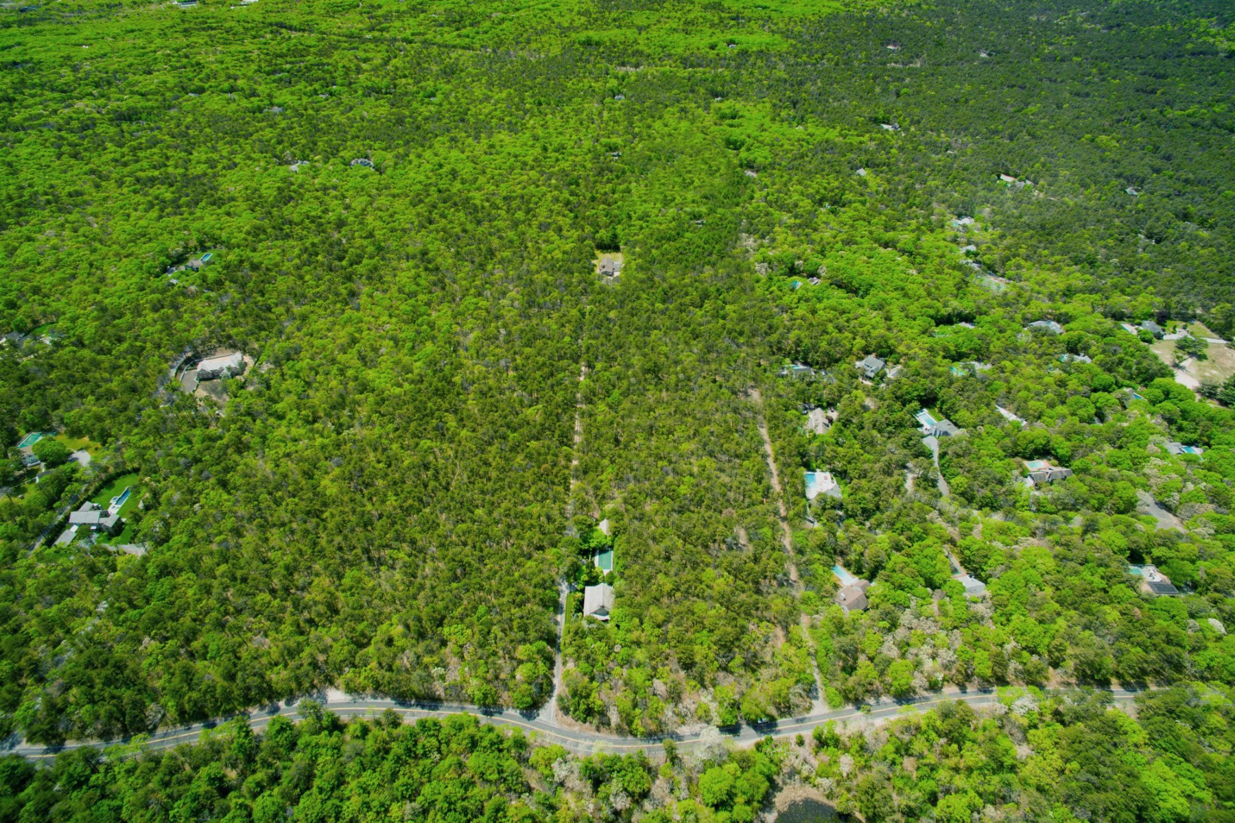 Land for Sale at NORTHWEST ACREAGE IN PRIVATE SUBDIVISION 28 Edwards Hole Road East Hampton, New York, 11937 United States