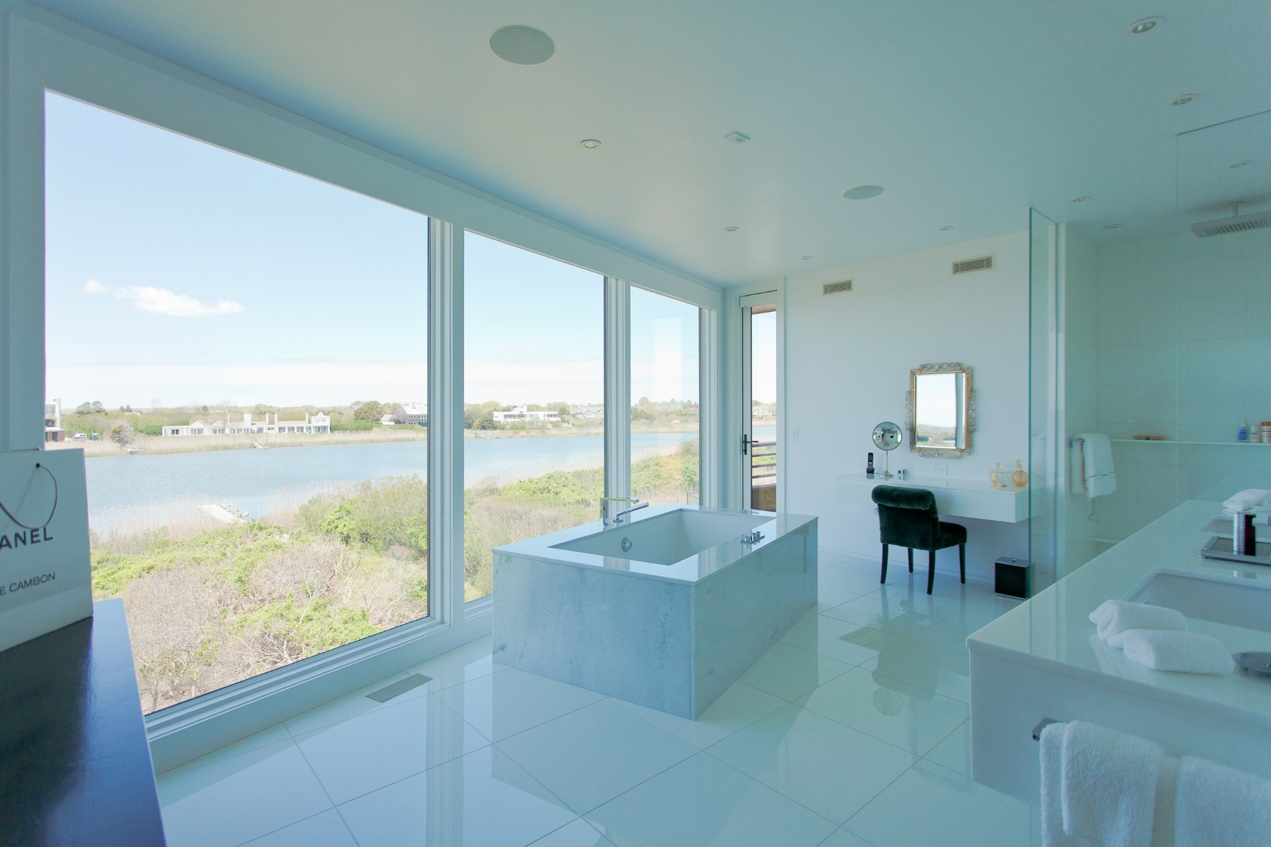 Additional photo for property listing at Waterfront Architectural Gem  Bridgehampton, New York 11932 United States