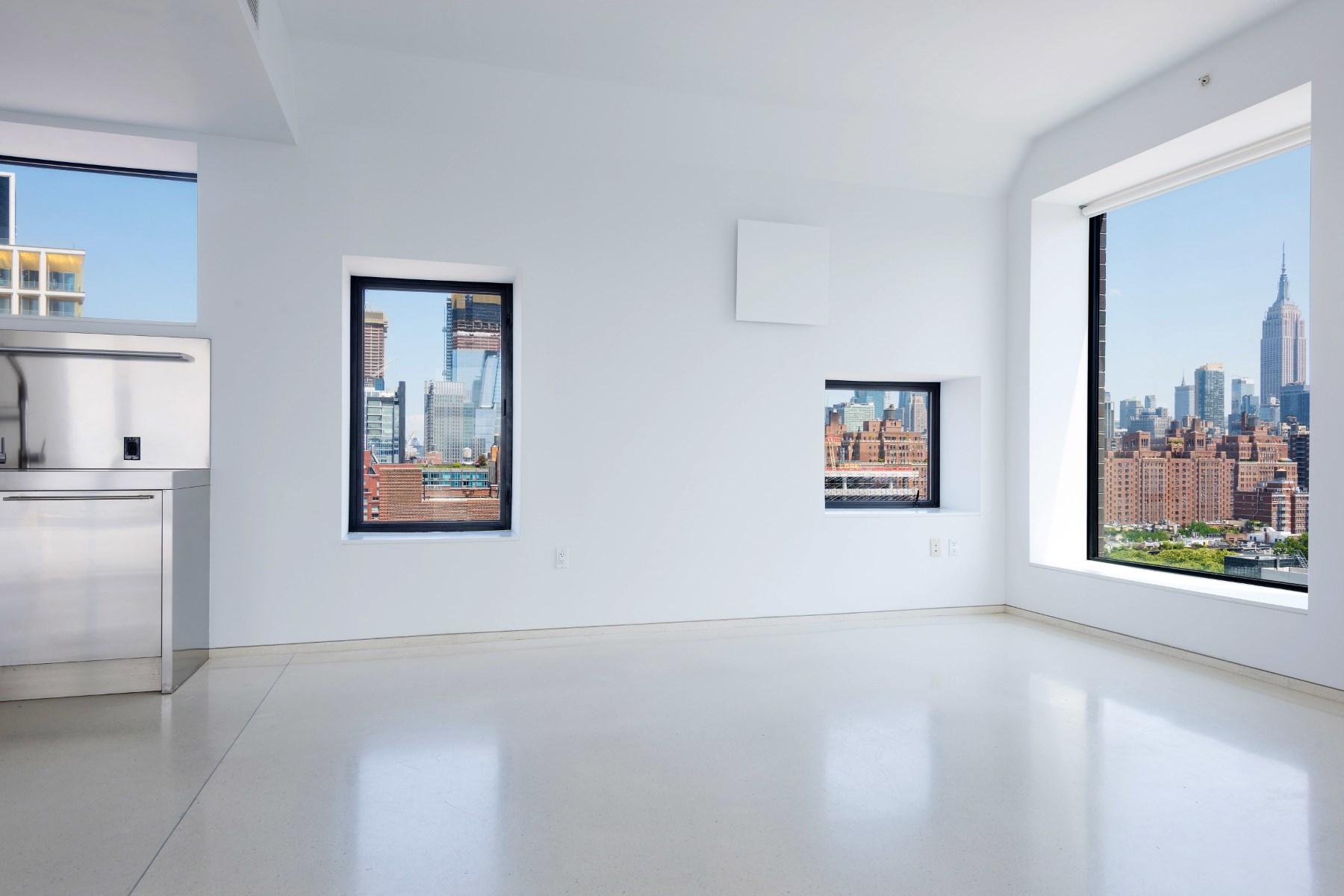 Piso por un Venta en With Respect To Light & Views 100 Eleventh Avenue Apt 16C, Chelsea, New York, Nueva York, 10011 Estados Unidos