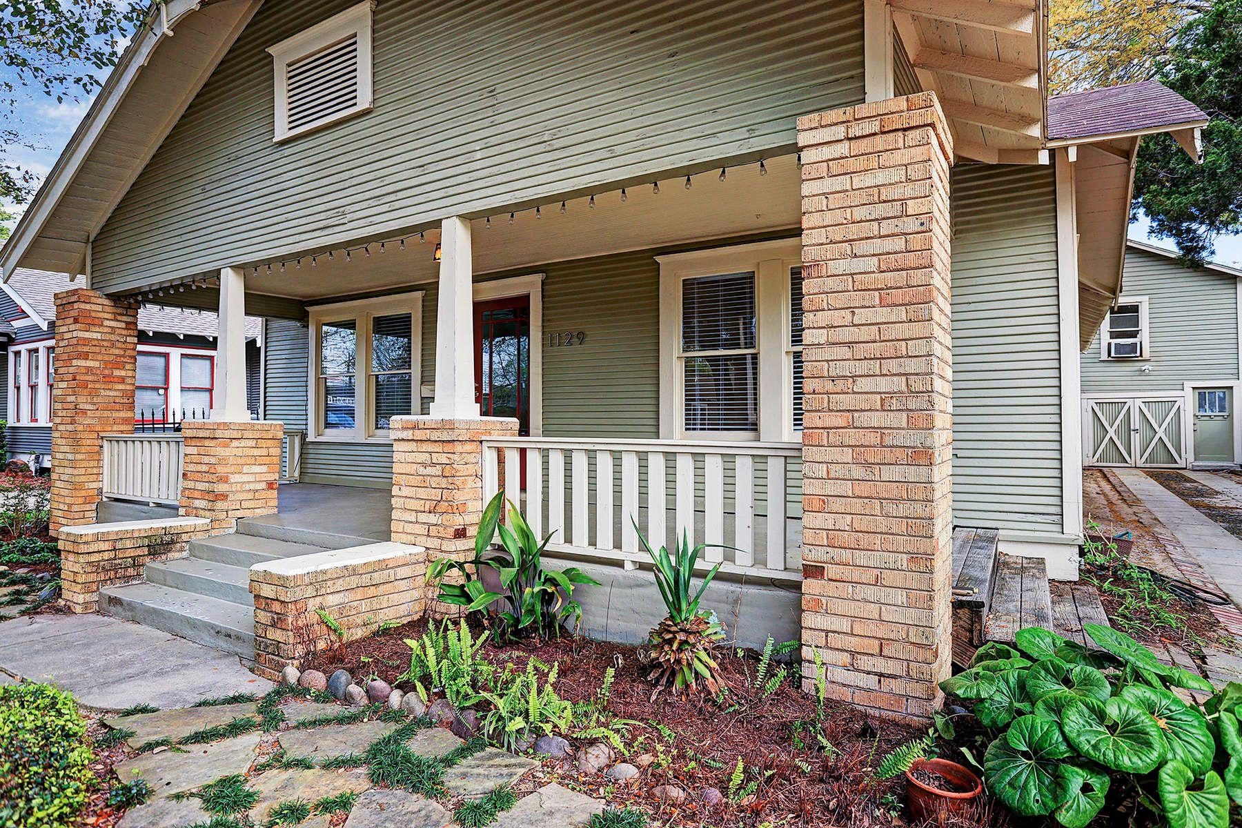 단독 가정 주택 용 매매 에 1129 Euclid Street Houston, 텍사스, 77009 미국
