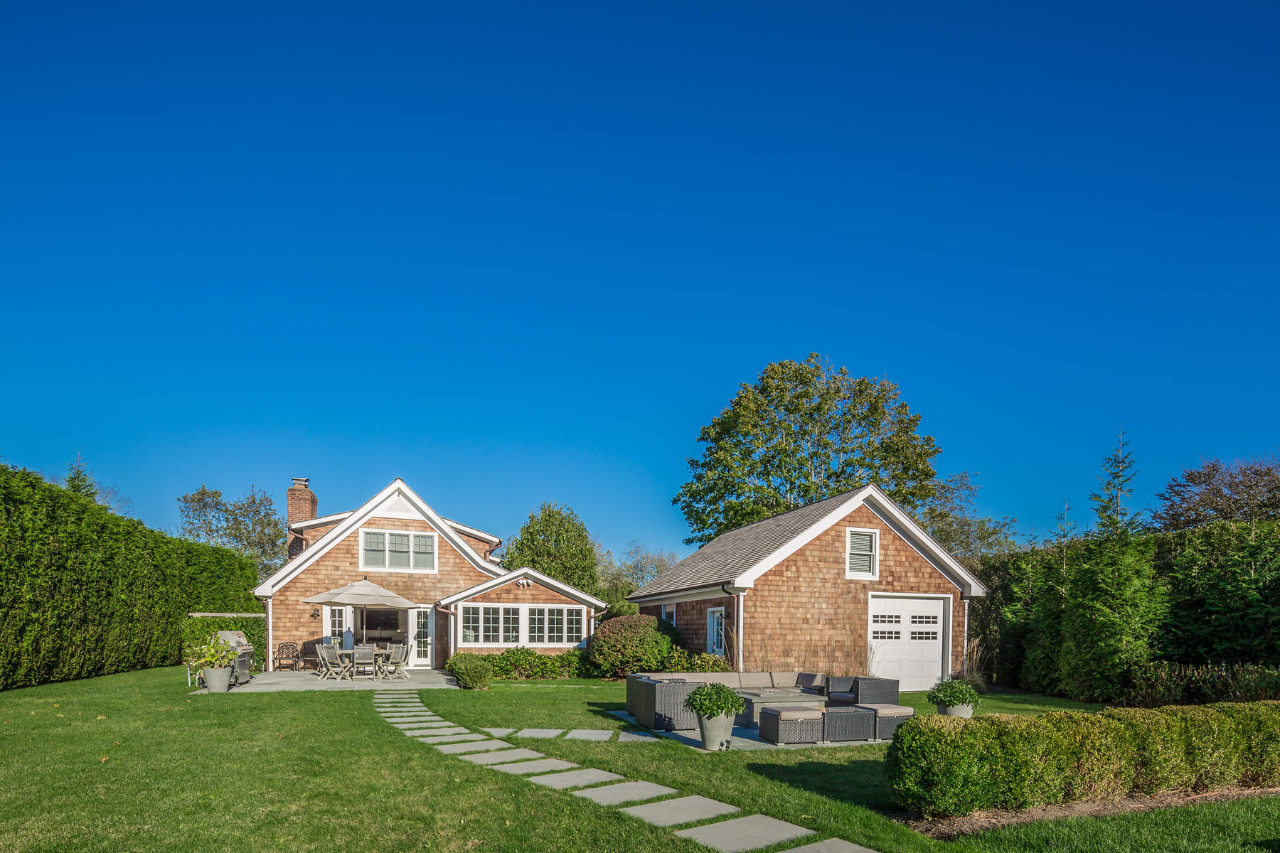 Single Family Home for Rent at Beach House Half Mile to the Ocean 16 Indian Wells Amagansett, New York 11930 United States