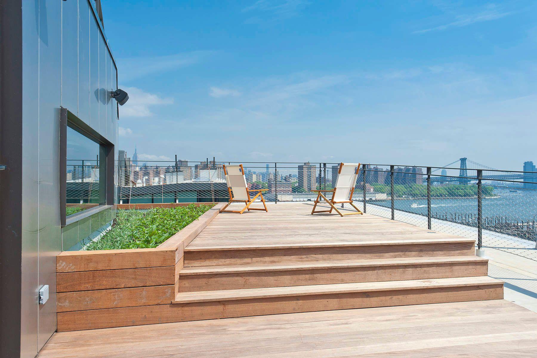 Condominio por un Alquiler en Stunning & Contemporary DUMBO Penthouse 185 Plymouth Street Apt PHS Brooklyn, Nueva York 11201 Estados Unidos