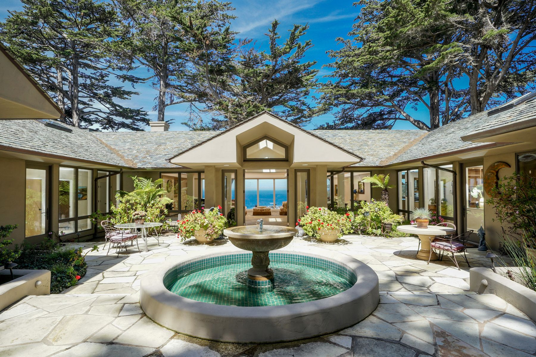 Single Family Homes for Sale at Oceanfront Overlooking Wildcat Cove 29798 Highway 1 Carmel Highlands, California 93923 United States