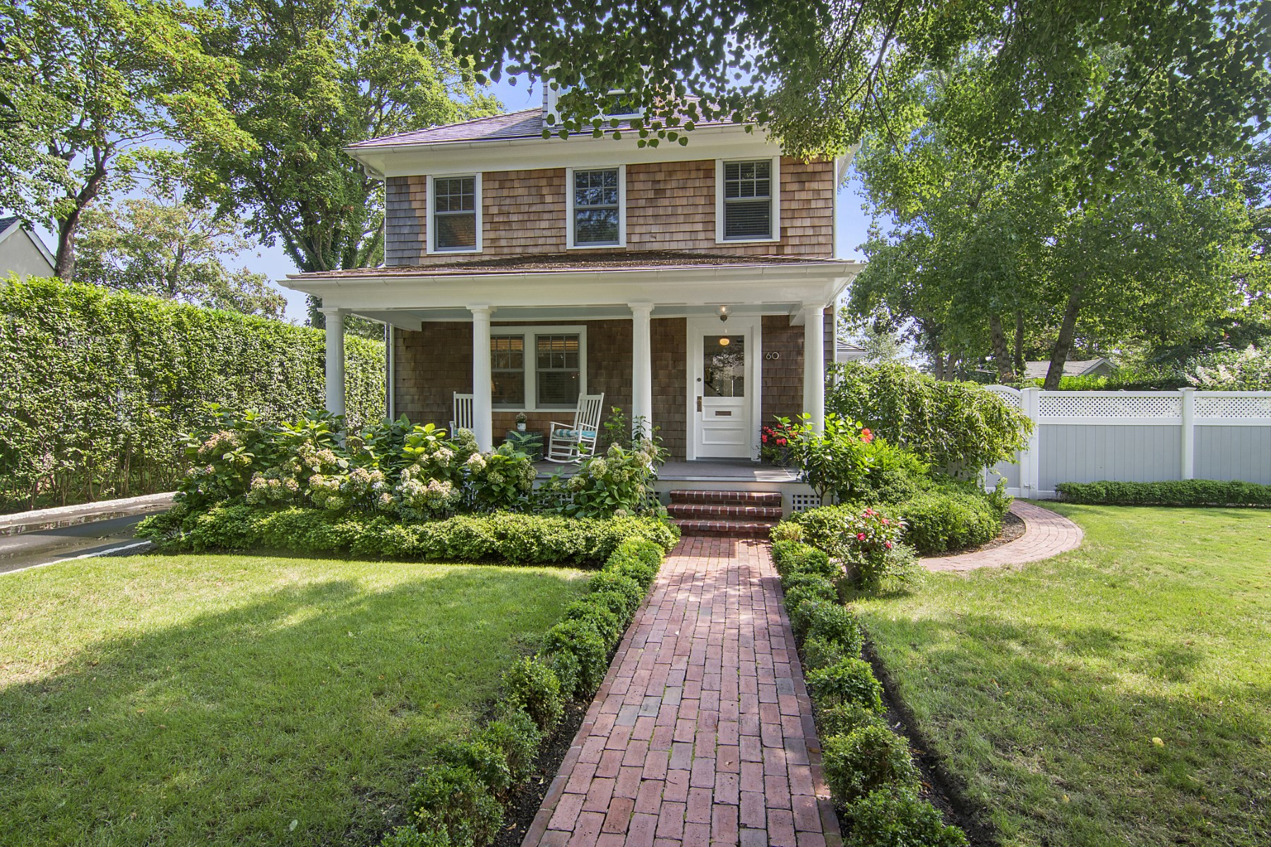 Single Family Home for Sale at A Jewel in Southampton Village 60 Cameron Street, Southampton, New York, 11968 United States