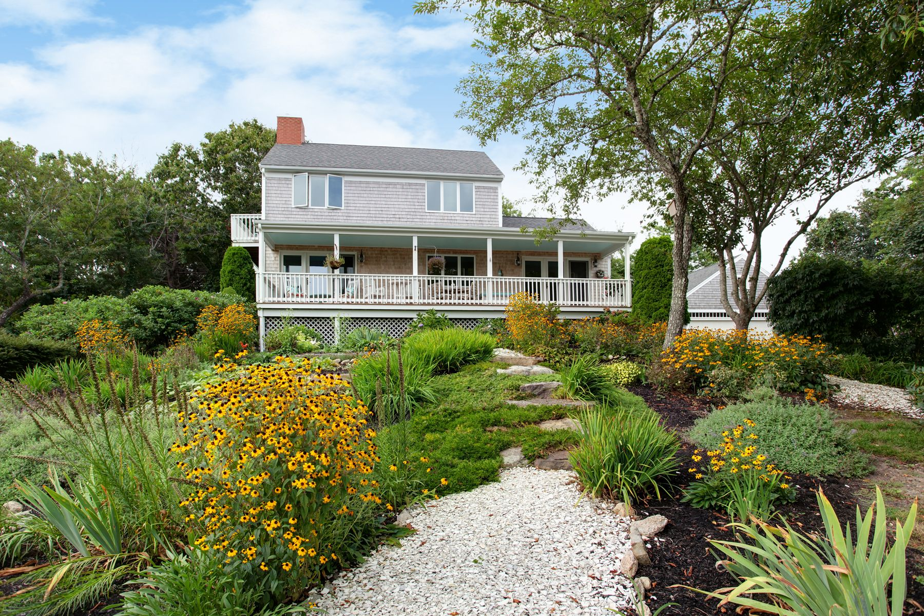 Single Family Homes for Sale at Sandy Neck Beach with Water Views 31 Leonard Road East Sandwich, Massachusetts 02537 United States