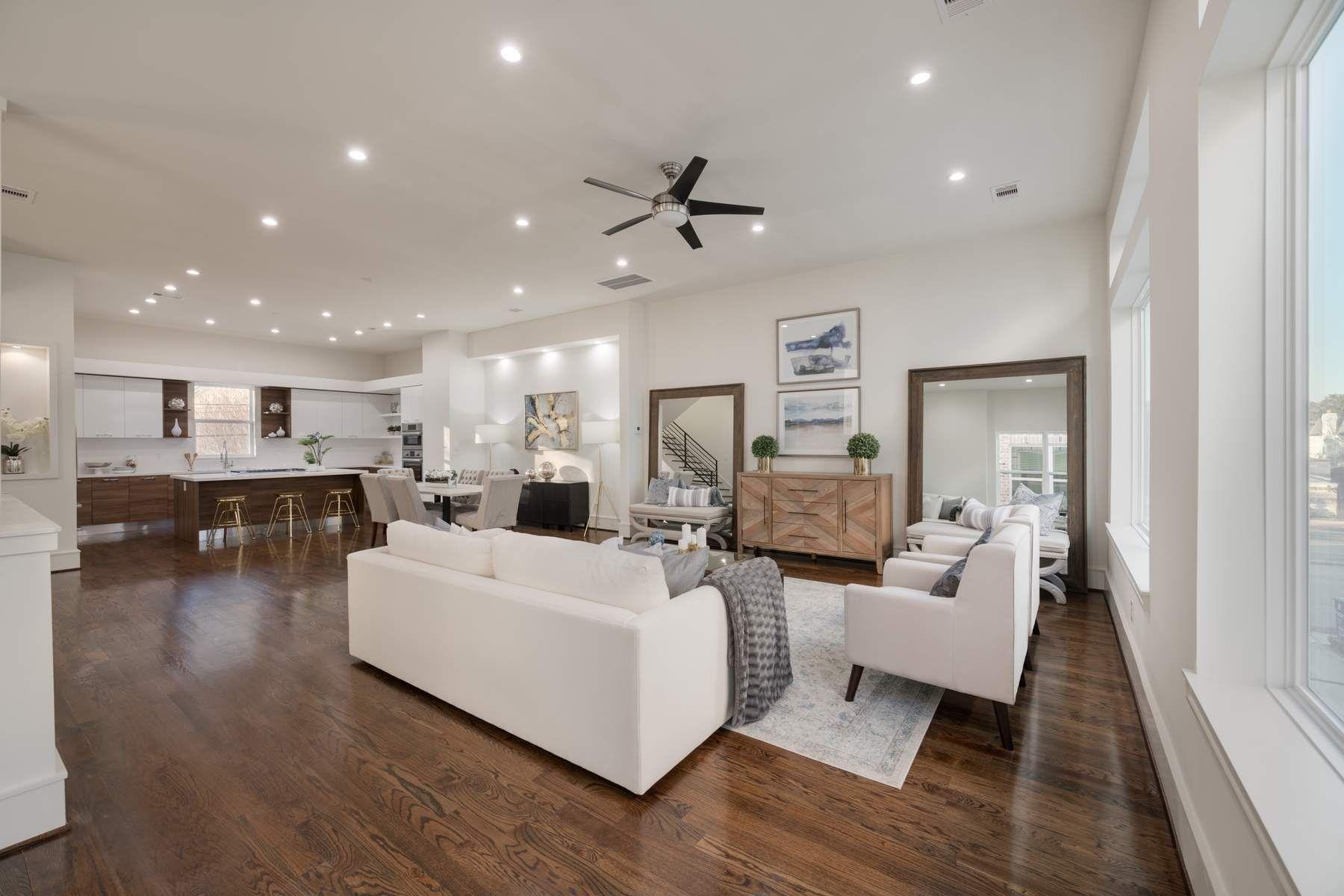Частный односемейный дом для того Продажа на 6009 San Felipe Unit A Westhaven Estates, Houston, Техас, 77057 Соединенные Штаты
