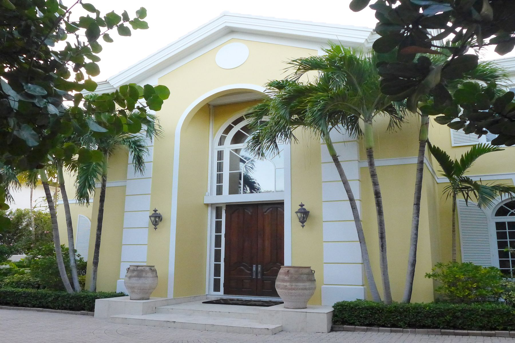 Single Family Home for Active at Elegant Intracoastal on Island Drive 655 Island Dr Palm Beach, Florida 33480 United States