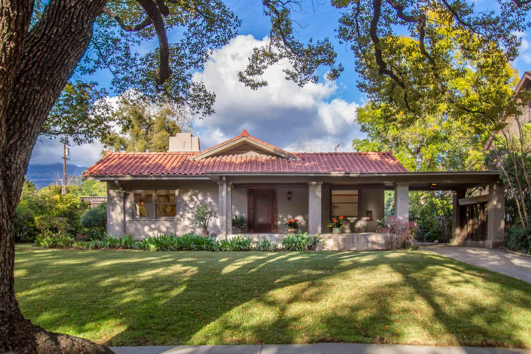 Casa para uma família para Venda às Historic Prospect Park Craftsman 510 Prospect Boulevard, Pasadena, Califórnia, 91103 Estados Unidos
