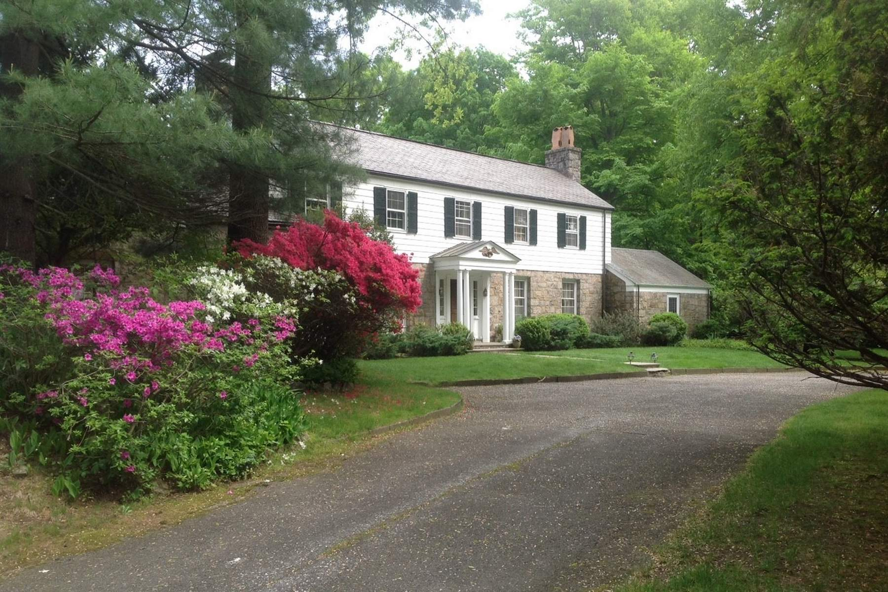 Single Family Home for Sale at Lake Avenue 591 Lake Avenue, Mid-Country, Greenwich, Connecticut, 06830 United States