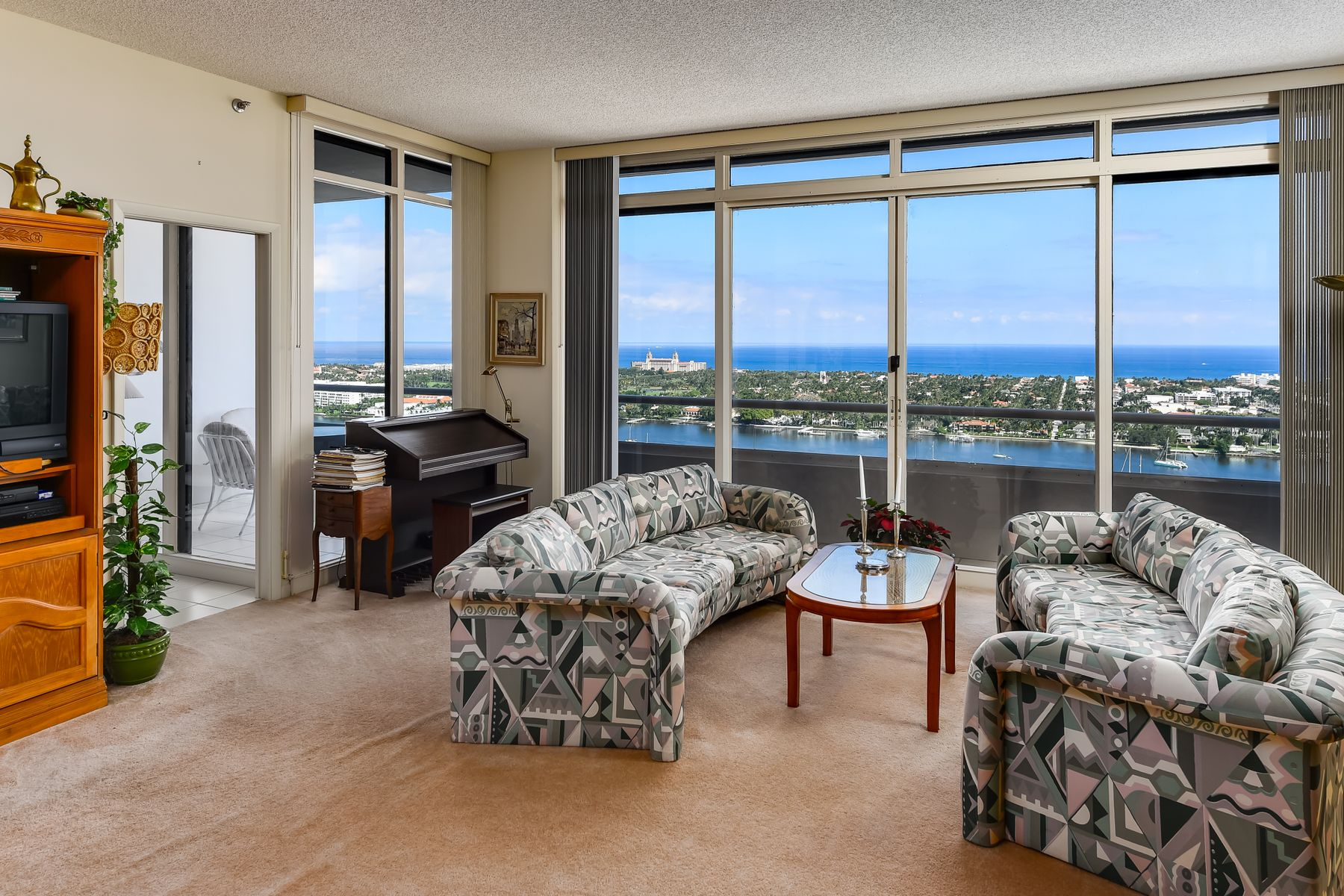 Condominium for Active at Trump Plaza Penthouse 529 S Flagler Dr Ph 1G West Palm Beach, Florida 33401 United States