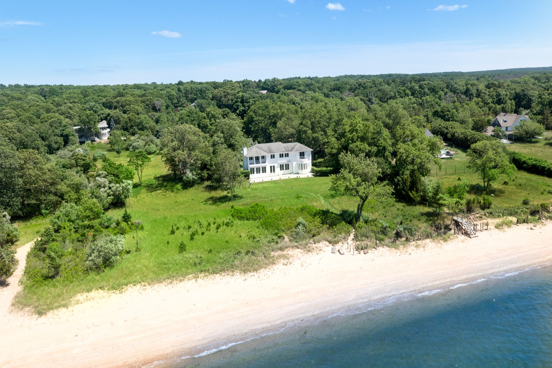 Single Family Home for Active at EXTRAORDINARY WATERFRONT 5 St Regis Court East Hampton, New York 11937 United States