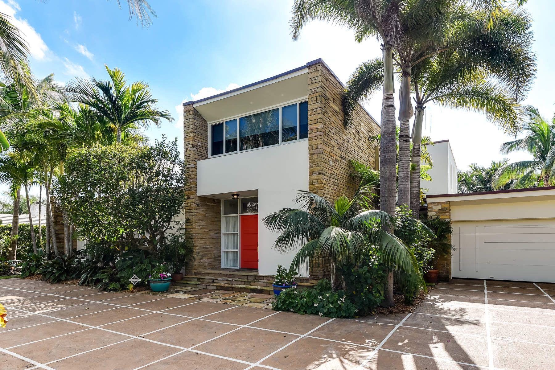 단독 가정 주택 용 매매 에 Unique Prairie Style House 244 Nightingale Trl, North End, Palm Beach, 플로리다, 33480 미국