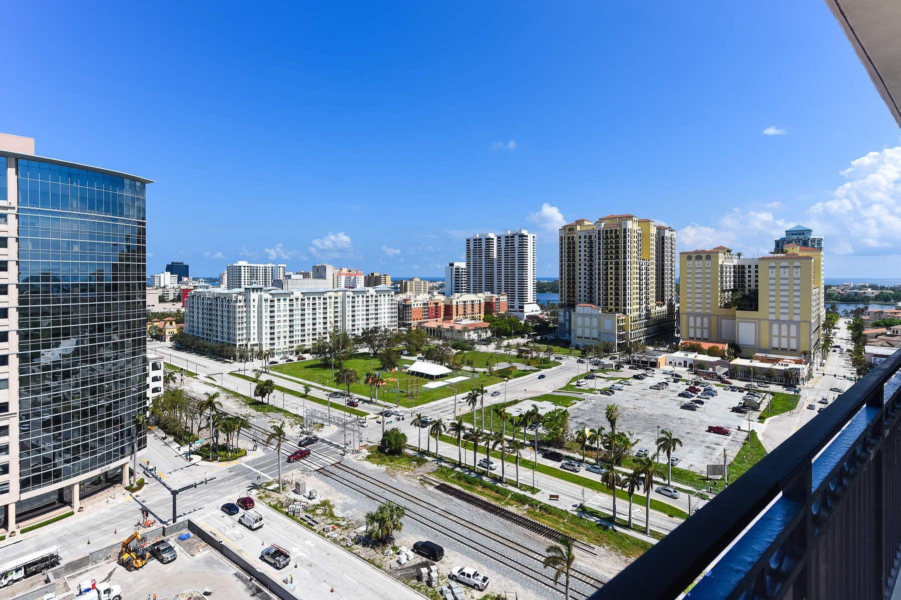Copropriété pour l Vente à CityPlace South Tower Condo 550 Okeechobee Blvd 1606, West Palm Beach, Florida, 33401 États-Unis