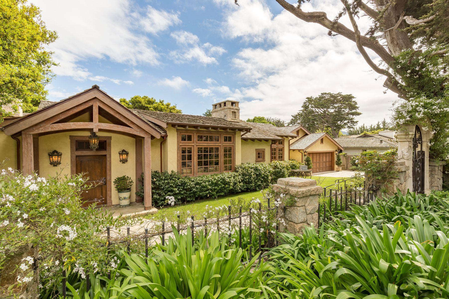 Single Family Homes for Sale at Carmel Elegance 26325 Isabella Avenue Carmel, California 93923 United States