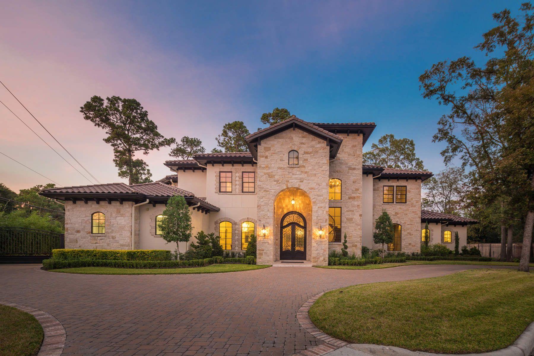 Single Family Home for Sale at 1 Saddlehorn Lane Houston, Texas, 77024 United States