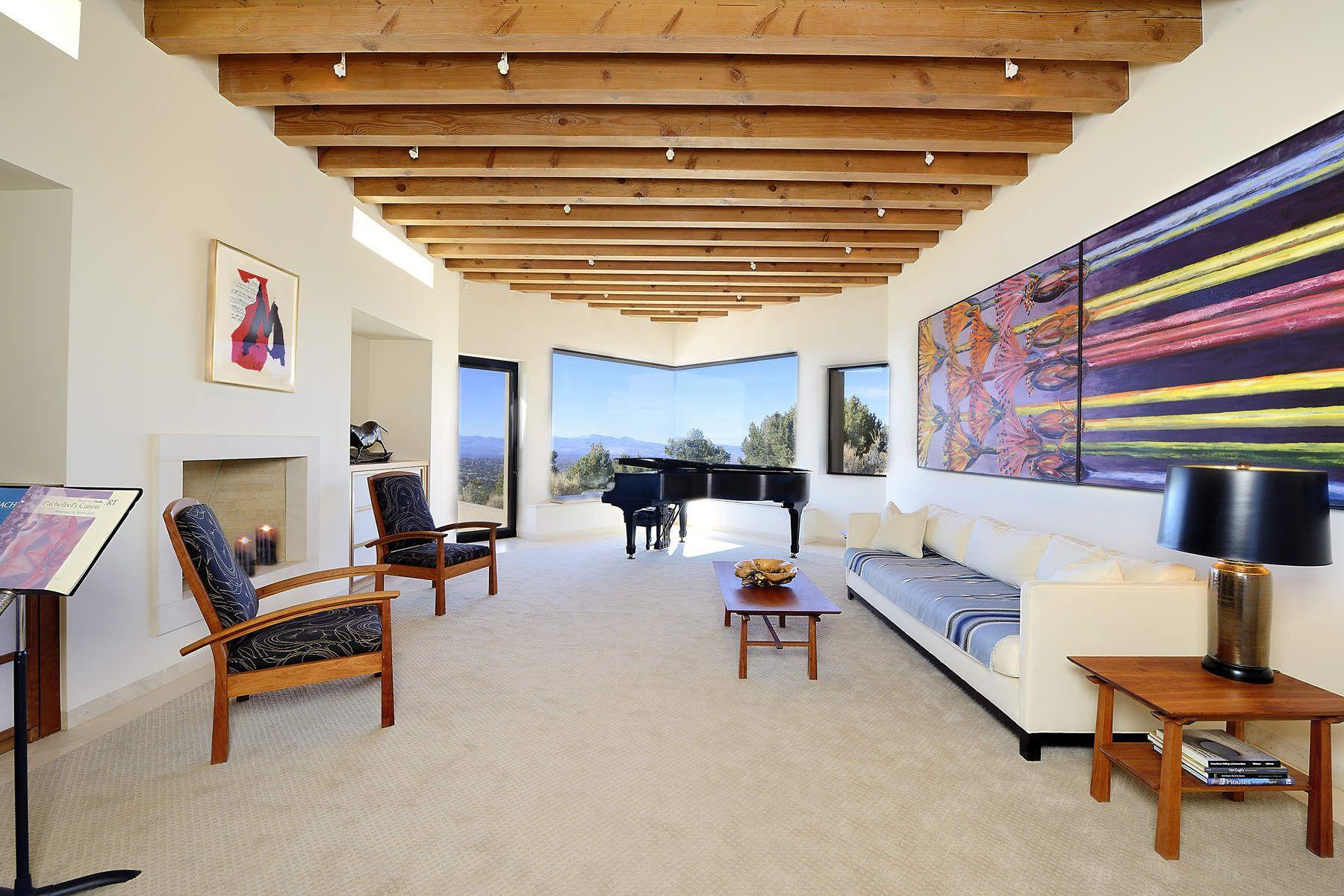 Частный односемейный дом для того Продажа на 1204 North Summit Drive Santa Fe City Northeast, Santa Fe, Нью-Йорк, 87501 Соединенные Штаты