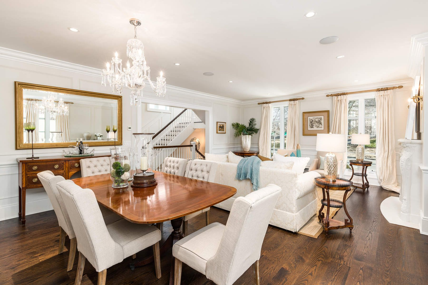 Single Family Home for Sale at Elegant In-Town Residence 138 Milbank Avenue Greenwich, Connecticut 06830 United States