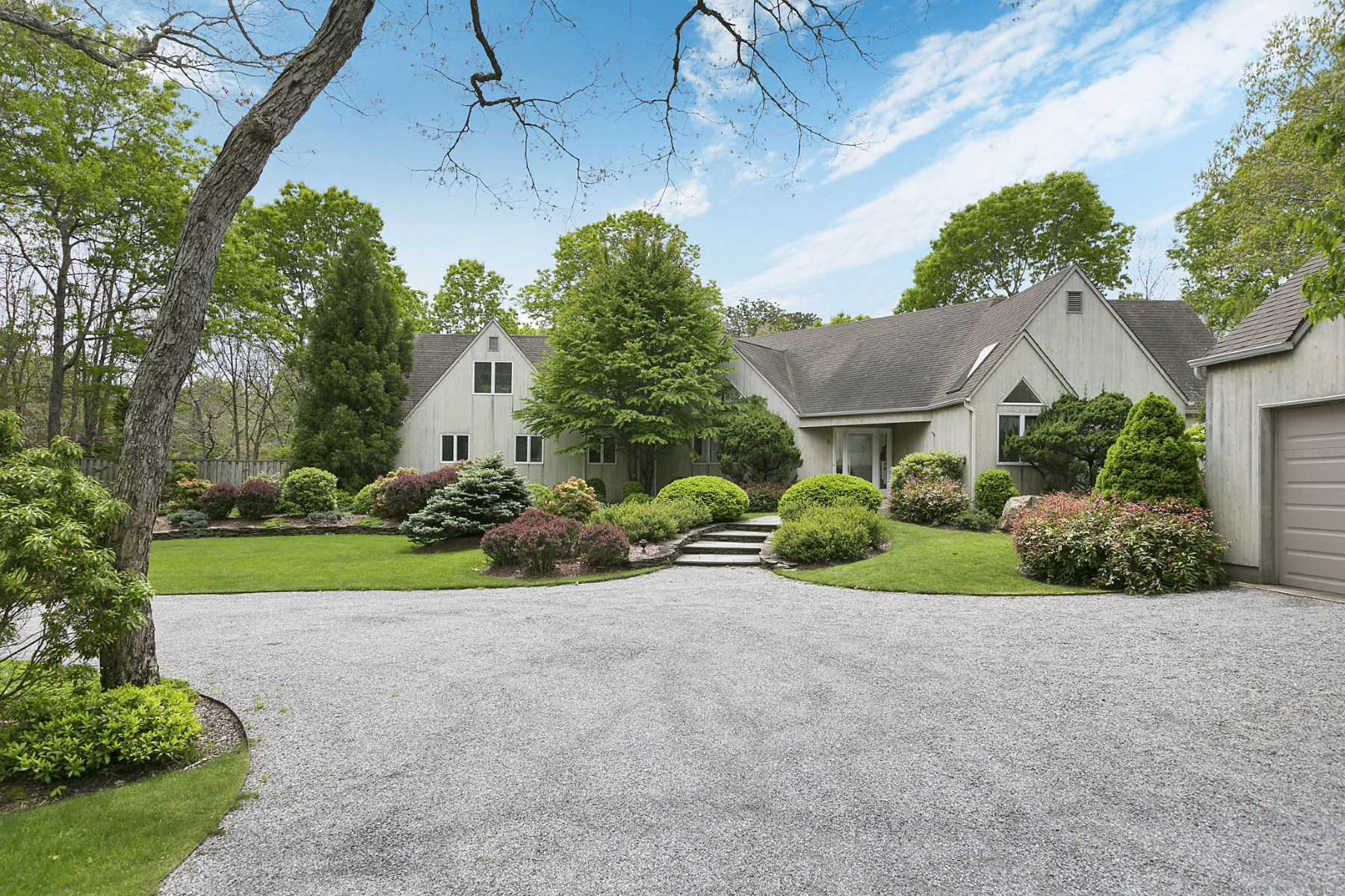 Single Family Home for Rent at Private Contemporary with Pool & Tennis 5 Ely Brook To Hands Creek Road East Hampton, New York 11937 United States