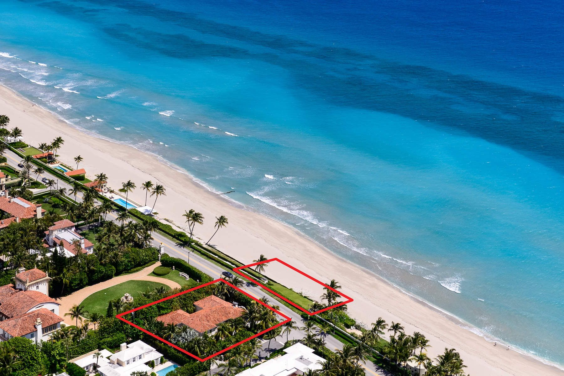 Single Family Home for Active at 870 S Ocean Blvd 870 S Ocean Blvd Palm Beach, Florida 33480 United States