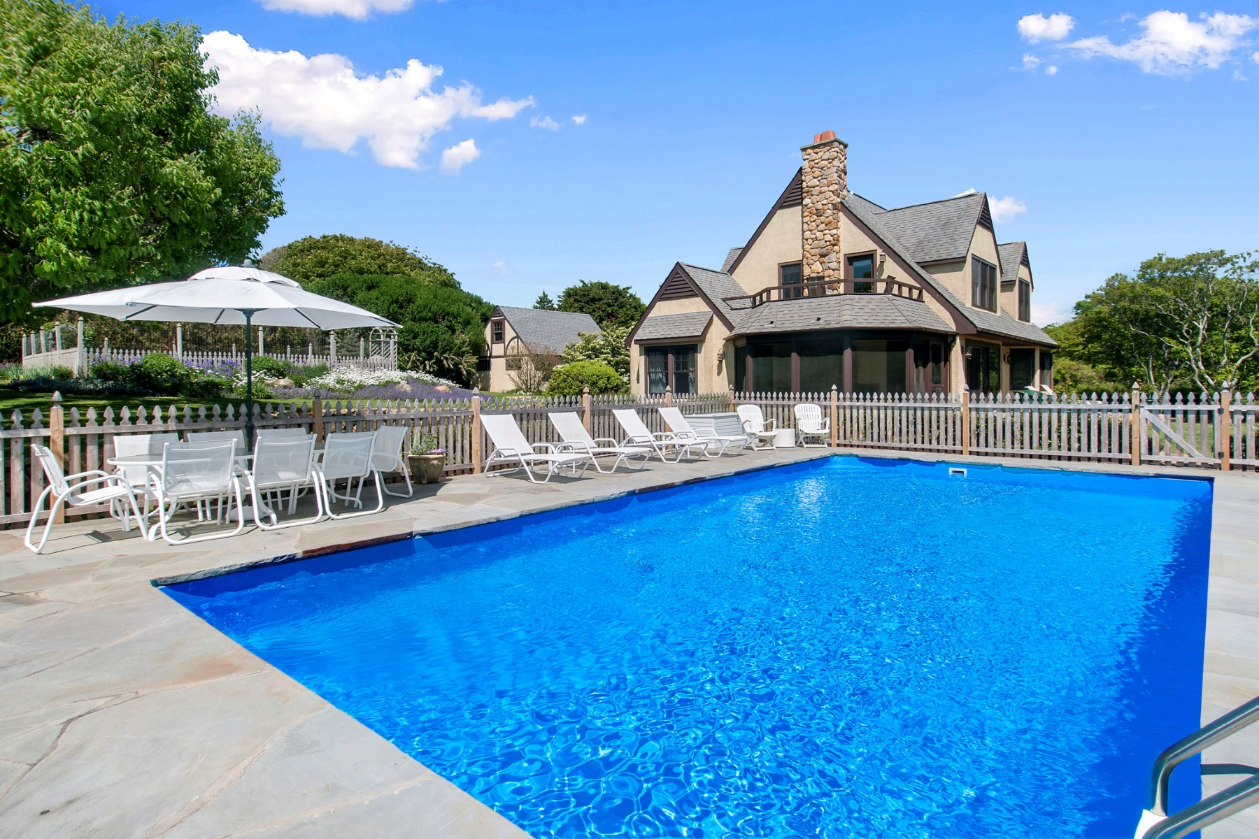 Single Family Home for Rent at Charming Montauk Tudor 169 South Fairview Avenue Montauk, New York 11954 United States