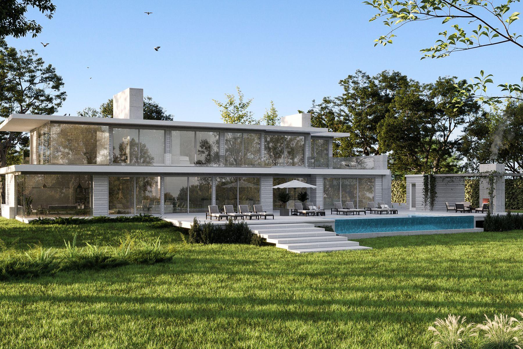 Single Family Homes für Verkauf beim SAGAPONACK NEW WATERFRONT DAVINCI HAUS Sagaponack, New York 11962 Vereinigte Staaten