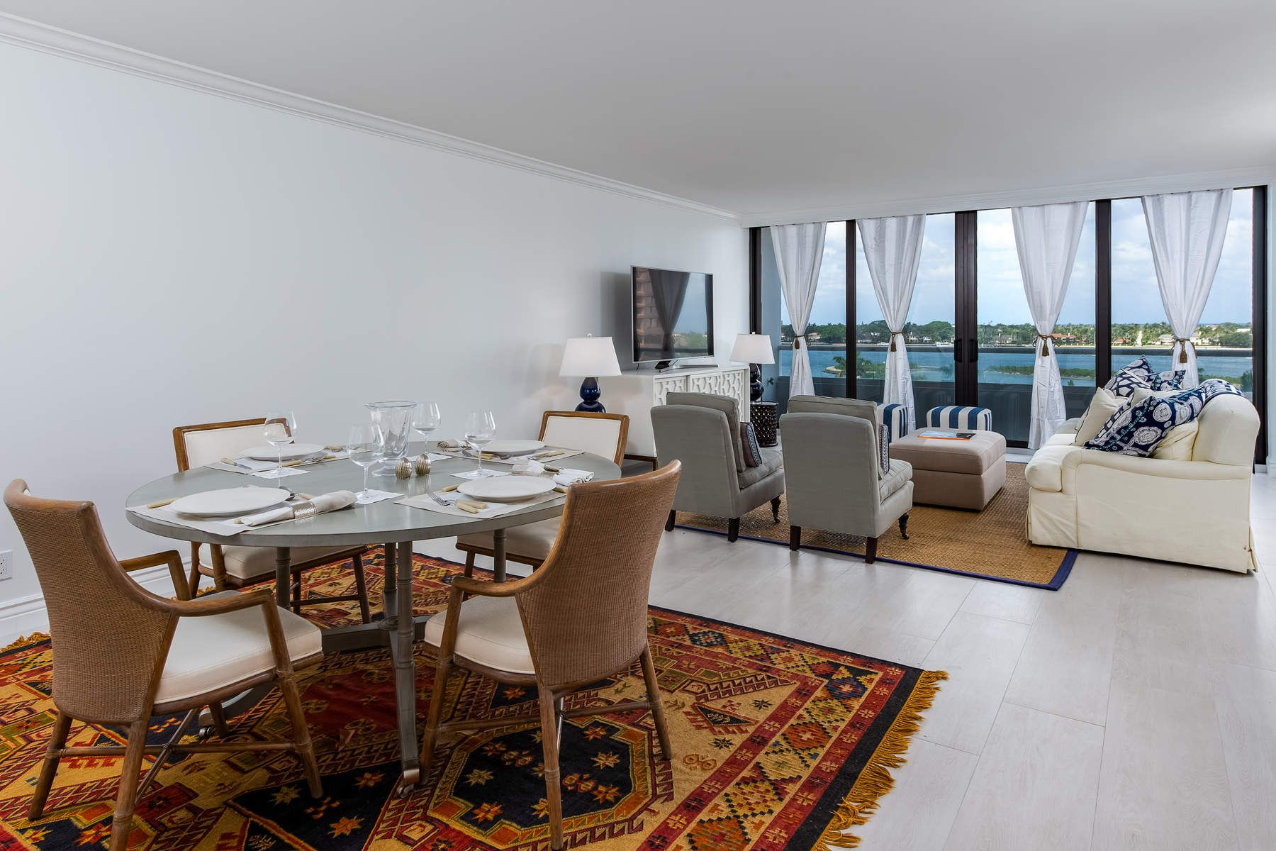 Condominium for Sale at Trump Plaza Waterview Apartment 529 S Flagler Drive 6F West Palm Beach, Florida 33401 United States