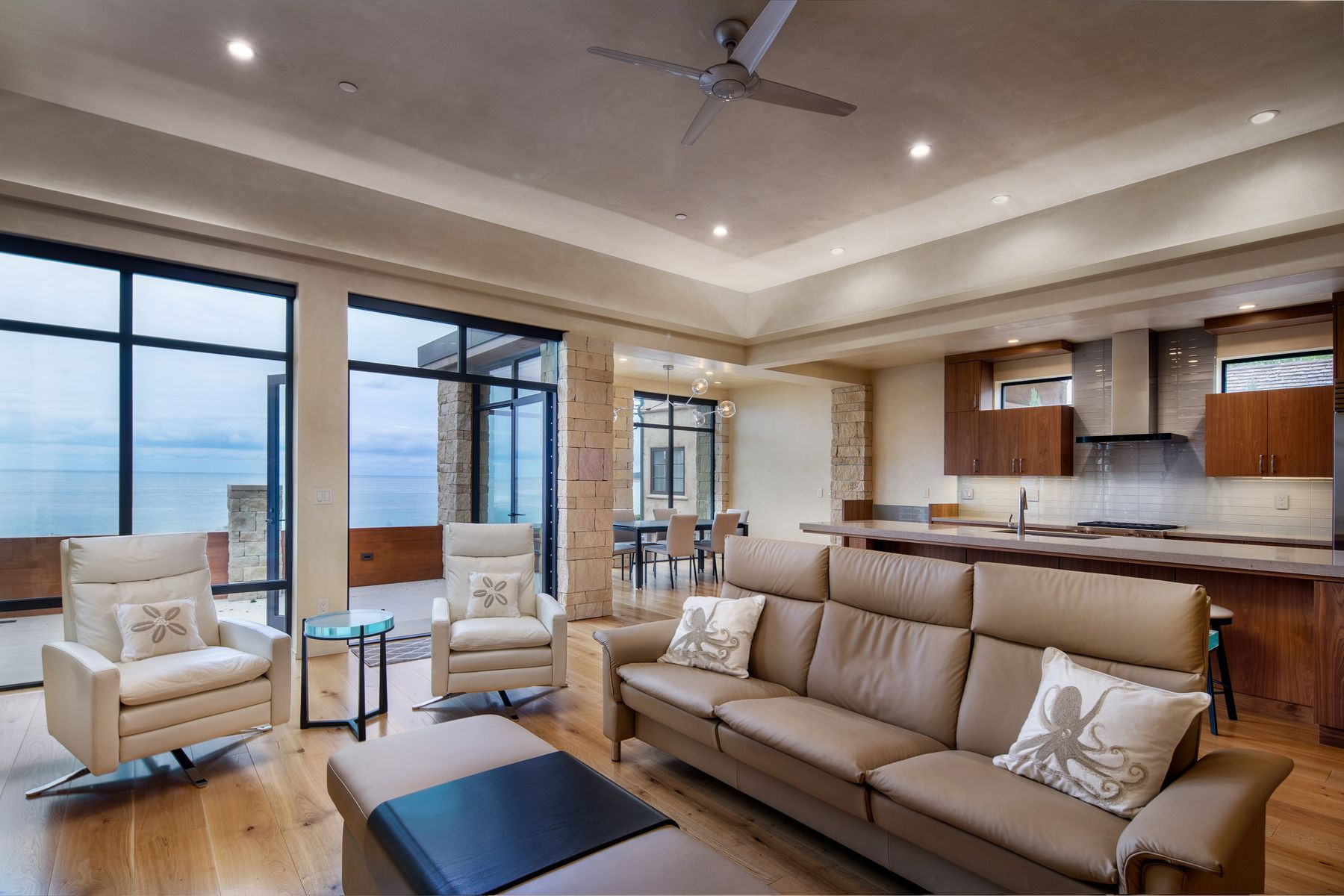 Single Family Home for Sale at Modern Beach House on Scenic Road 0 Scenic 4 Ne Of 13th Carmel By The Sea, California 93921 United States