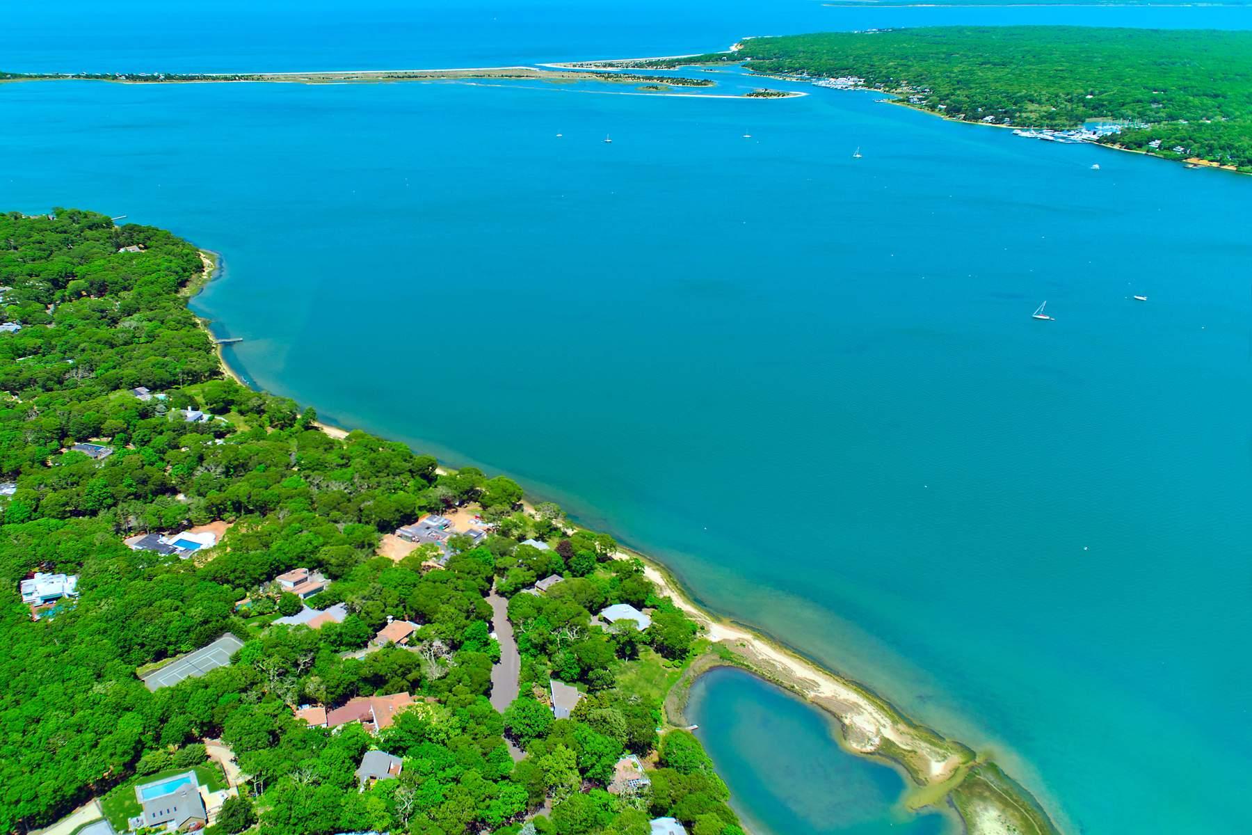 Tek Ailelik Ev için Satış at Harbor Waterfront 84 Oyster Shores Road, East Hampton, New York, 11937 Amerika Birleşik Devletleri