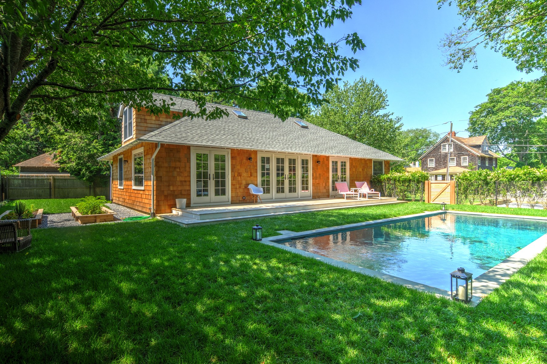 Single Family Home for Rent at East Hampton Village Convenience 8 Cooper Lane East Hampton, New York 11937 United States