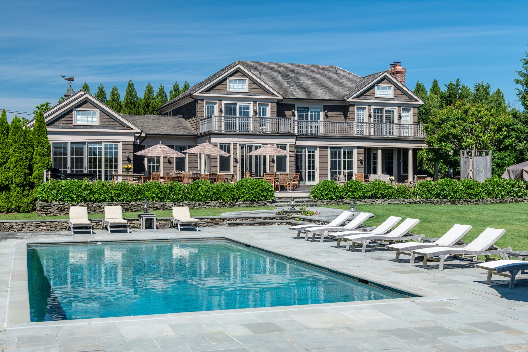 Single Family Home for Active at EXQUISITE TRADITIONAL ON BUTTER LANE 547 Butter Lane Bridgehampton, New York 11932 United States