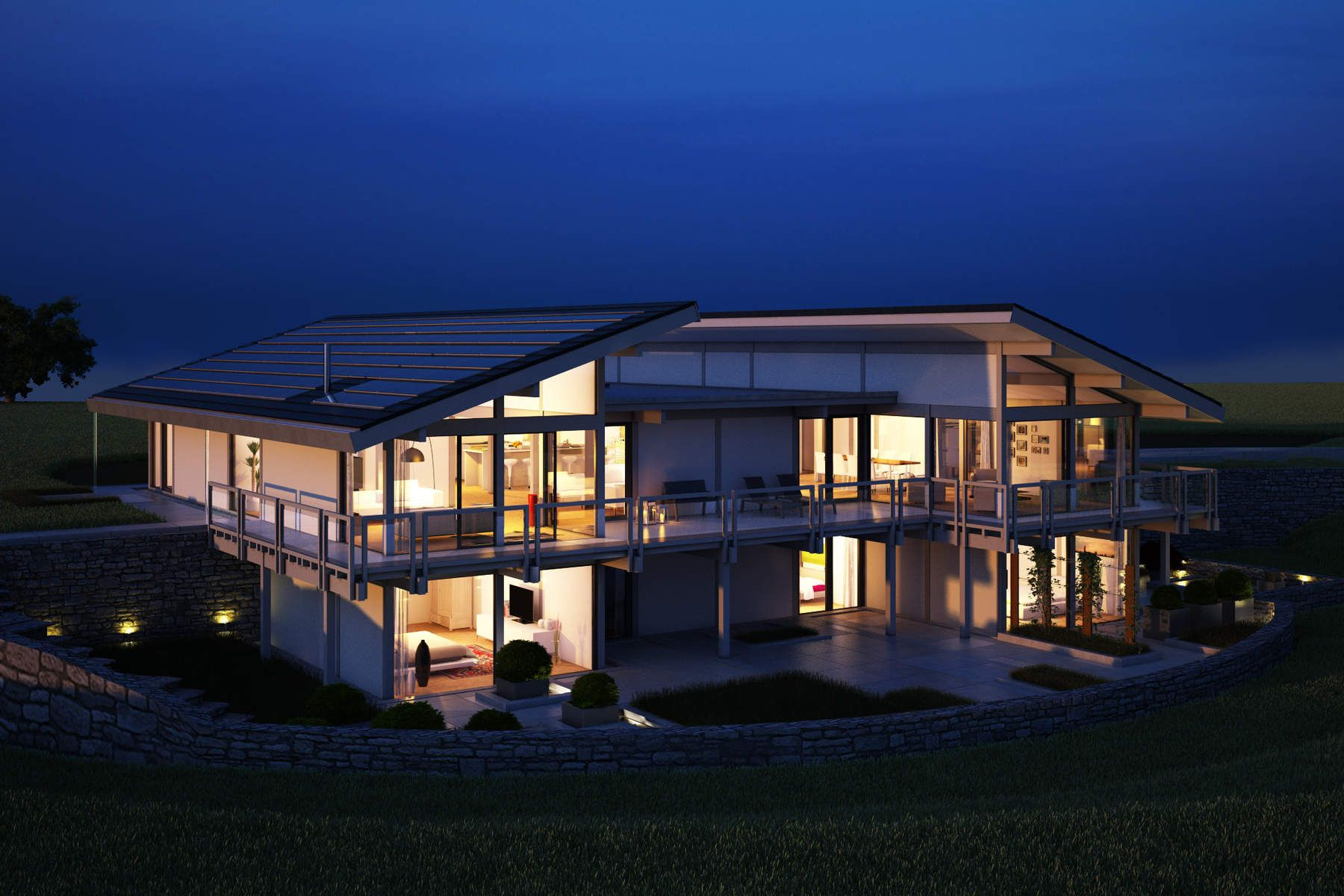 Single Family Home for Active at THE BUTTERFLY BY DAVINCI - RENDERING Bridgehampton, New York 11932 United States