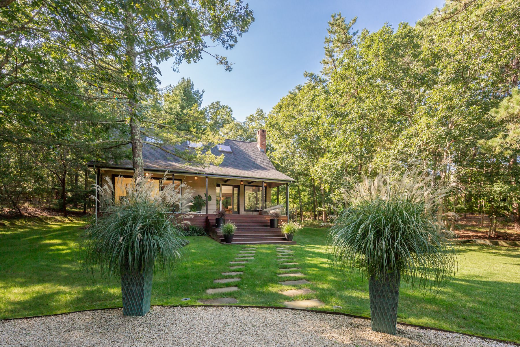Single Family Homes for Sale at Enchanting Designer Compound 393 Little Noyac Path Water Mill, New York 11976 United States