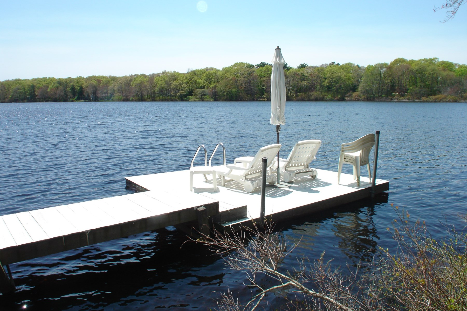 Single Family Home for Rent at Charming Beach House On Lake With Dock 90 Little Fresh Pond Rd Southampton, New York 11968 United States