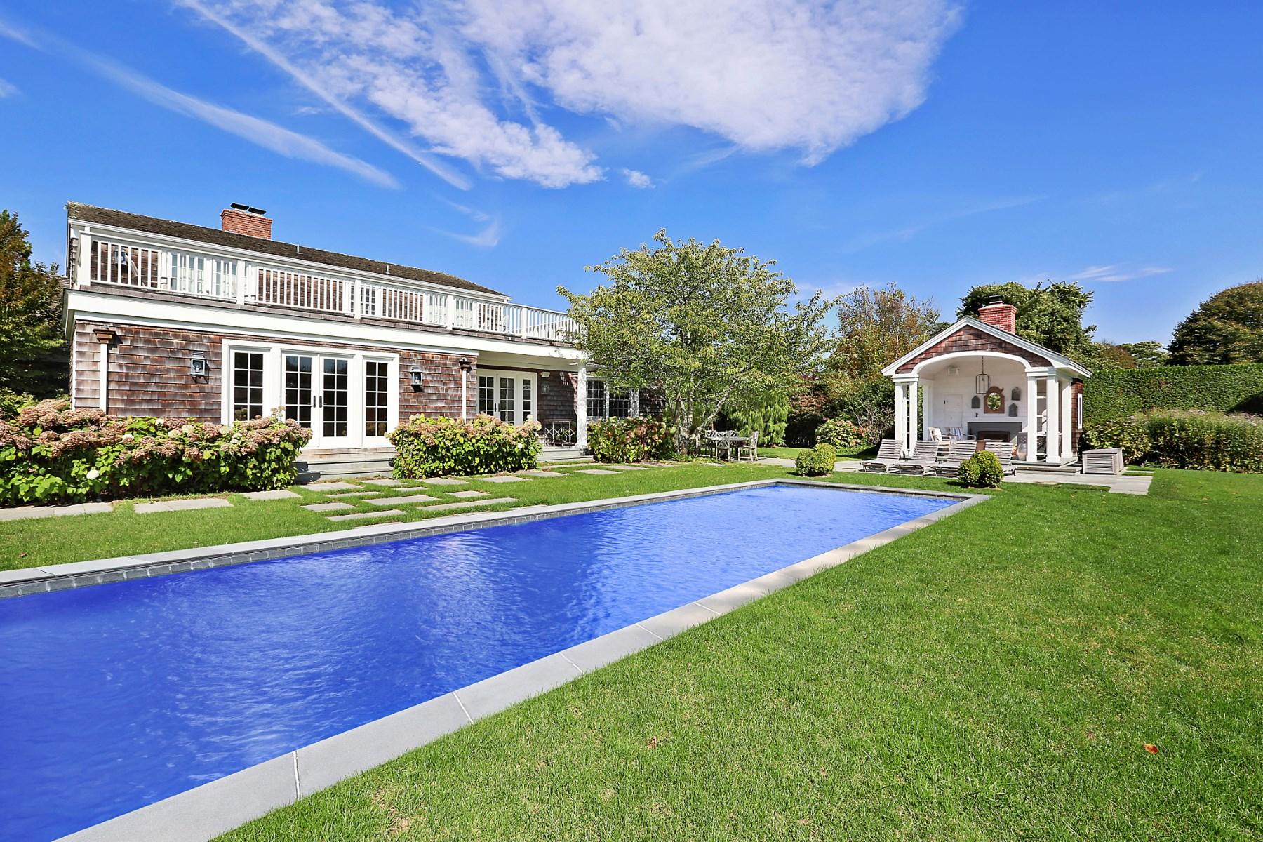 Maison unifamiliale pour l à louer à Summer on Further Lane East Hampton, New York, 11937 États-Unis