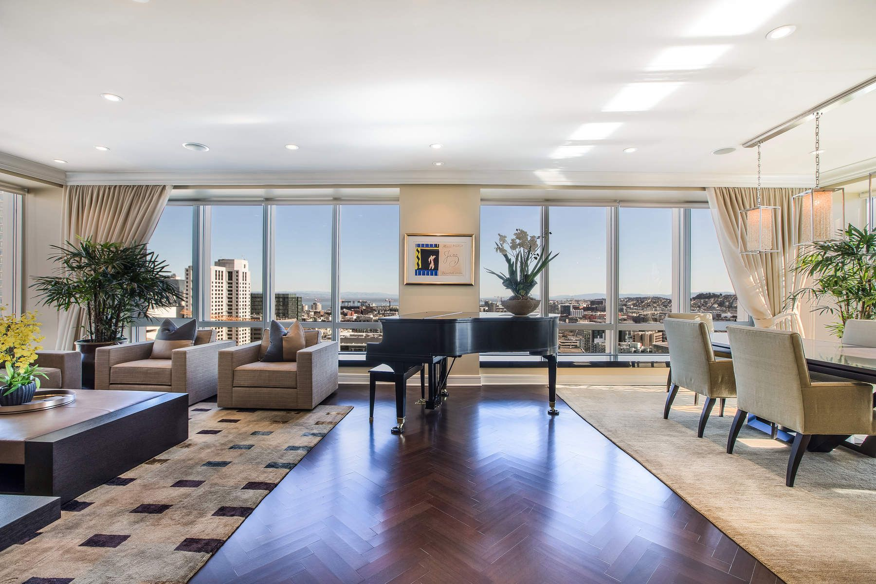 Condominium for Sale at Sunrise & Sunset Views at Four Seasons 765 Market St Apt 24A San Francisco, 94103 United States