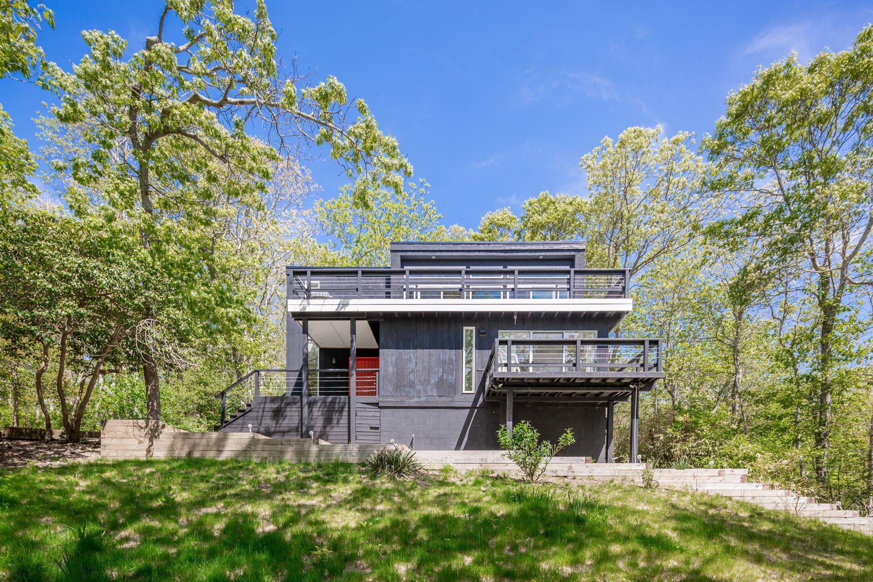 Single Family Homes for Sale at Montauk Ocean Breezes 15 Elm Lane Montauk, New York 11954 United States