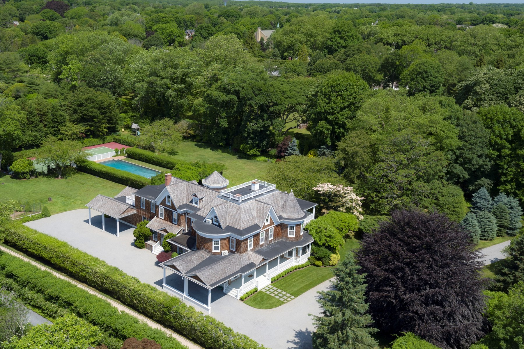 Single Family Home for Rent at Spectacular Southampton Estate 75 First Neck Lane Southampton, New York 11968 United States