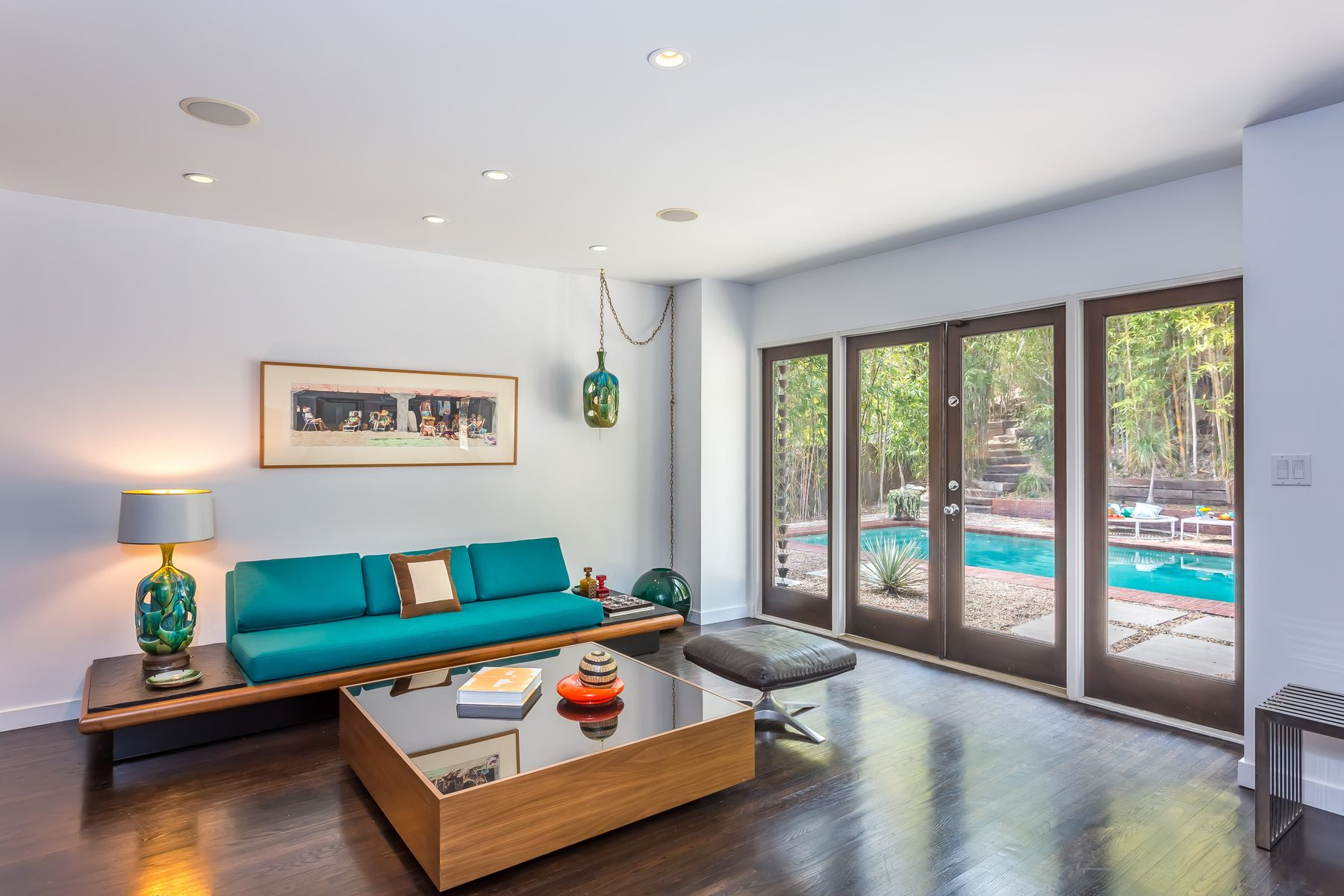 single family homes for Active at Sunset Strip Mid-Century on Rising Glen 1555 Rising Glen Road Los Angeles, California 90069 United States